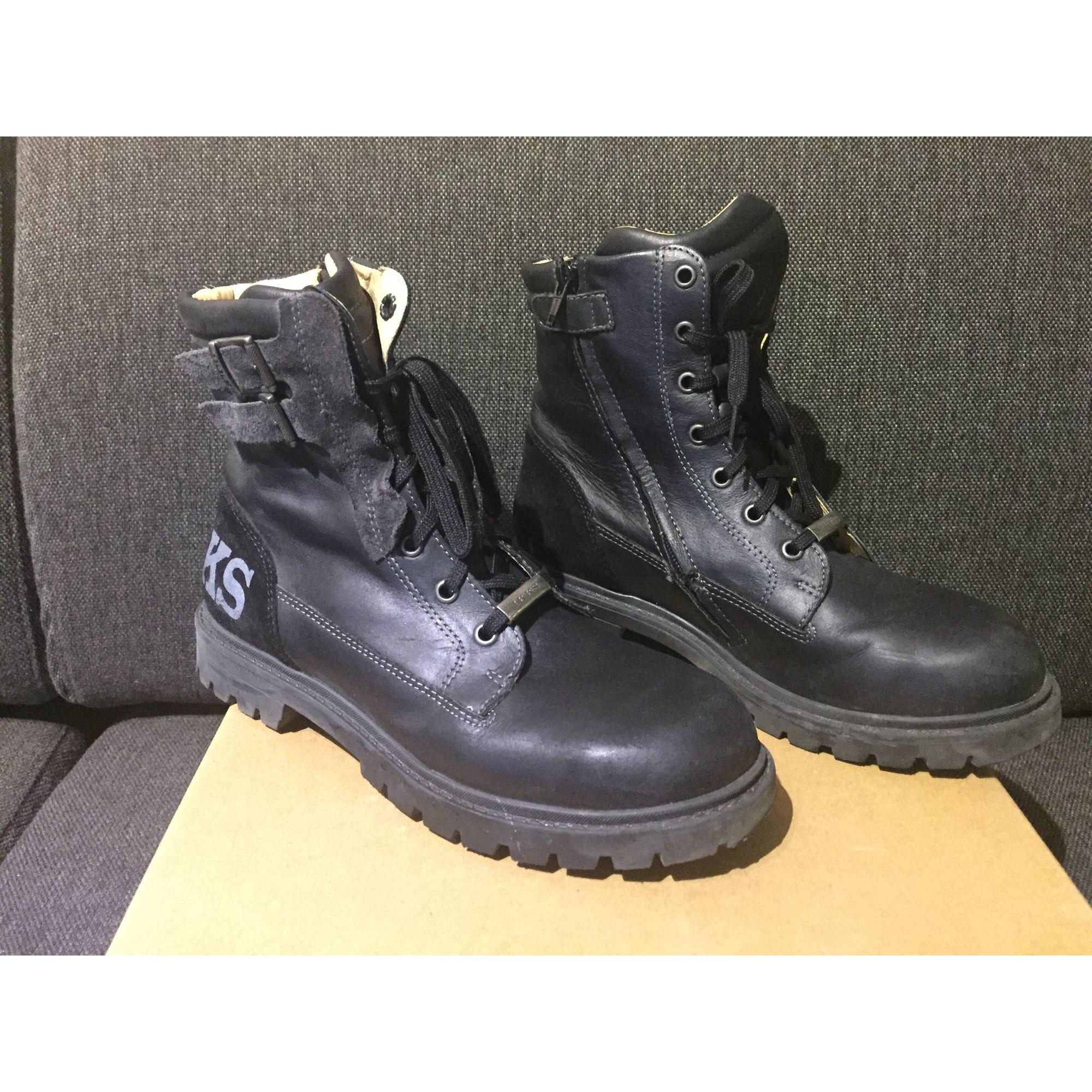 Ankle Boots IKKS Black