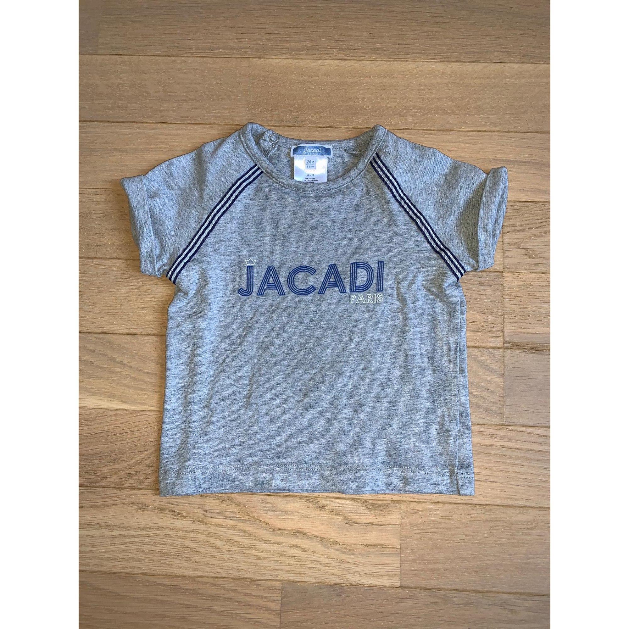 Top, tee shirt JACADI Gris, anthracite