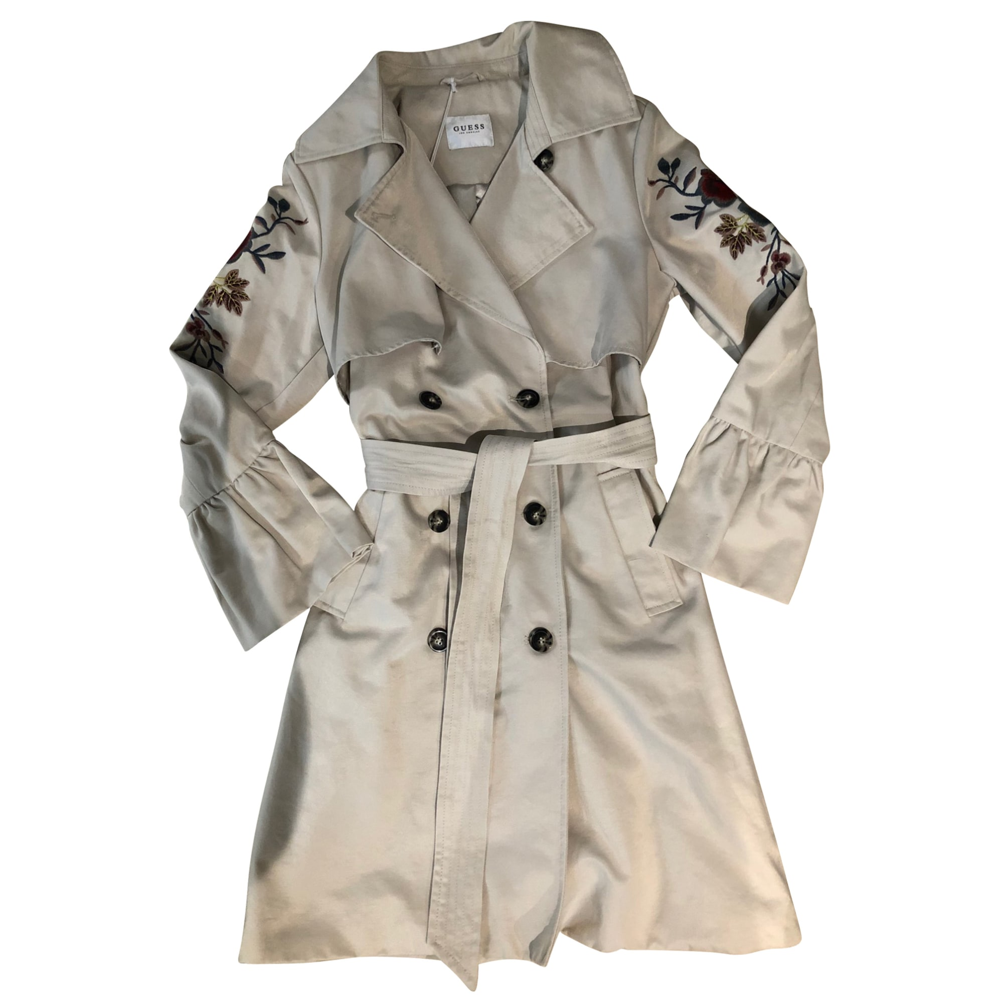 Imperméable, trench GUESS Beige, camel