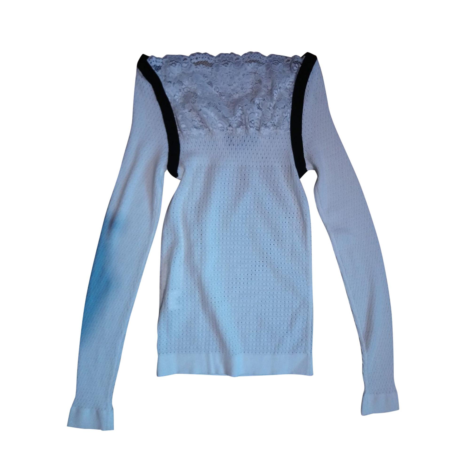 Top, tee-shirt EMPORIO ARMANI Blanc, blanc cassé, écru