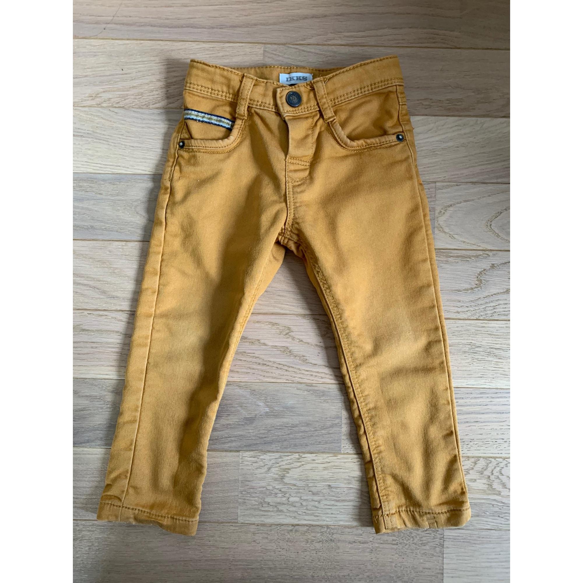 Pantalon IKKS Moutarde