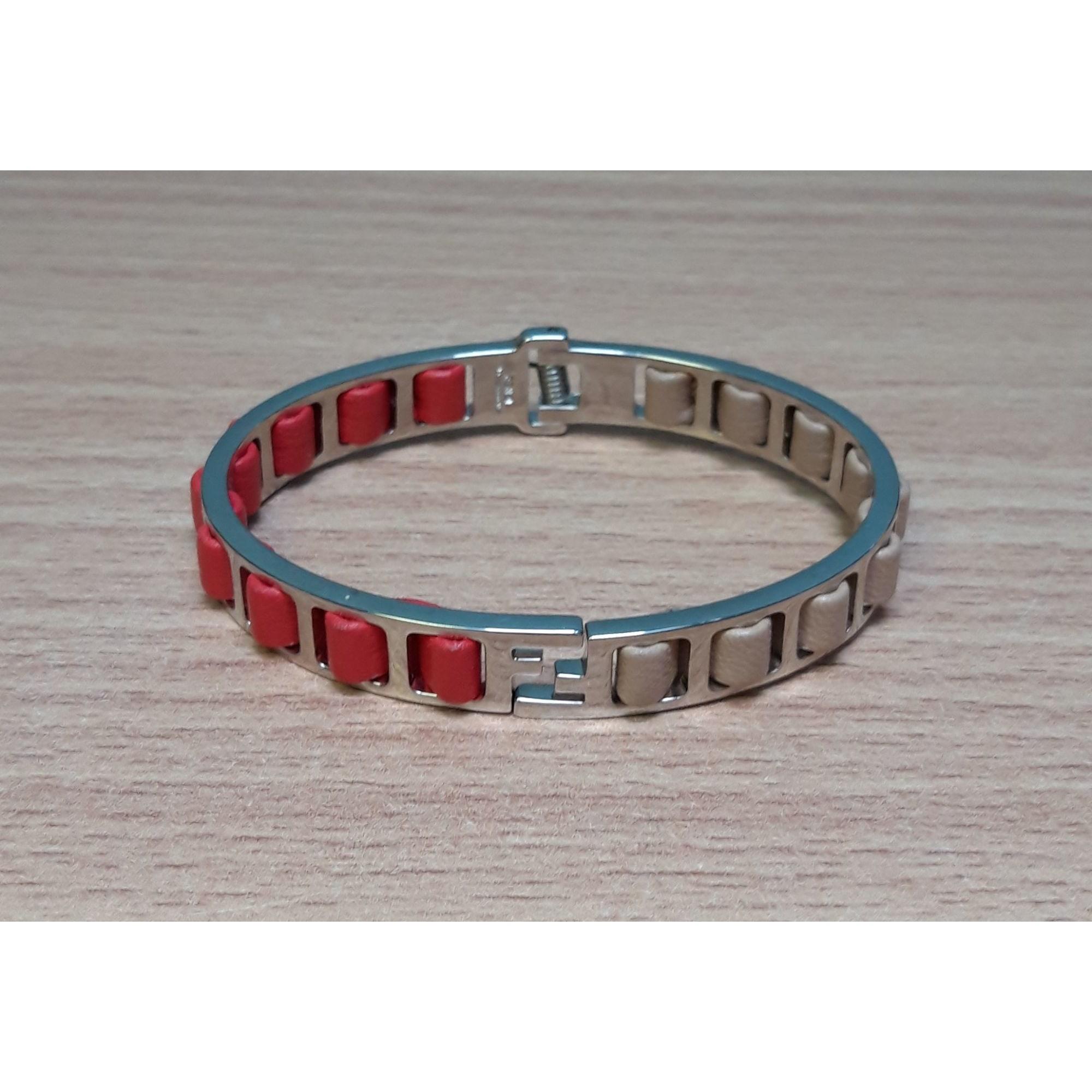 Bracelet FENDI Argenté, acier