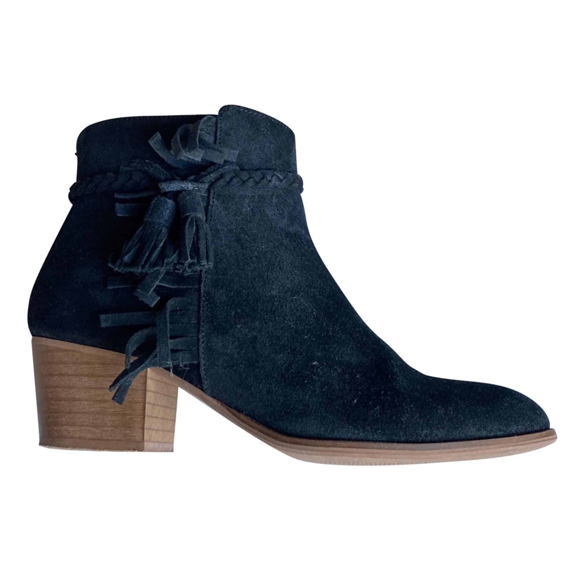 Bottines & low boots à talons SCHMOOVE Noir