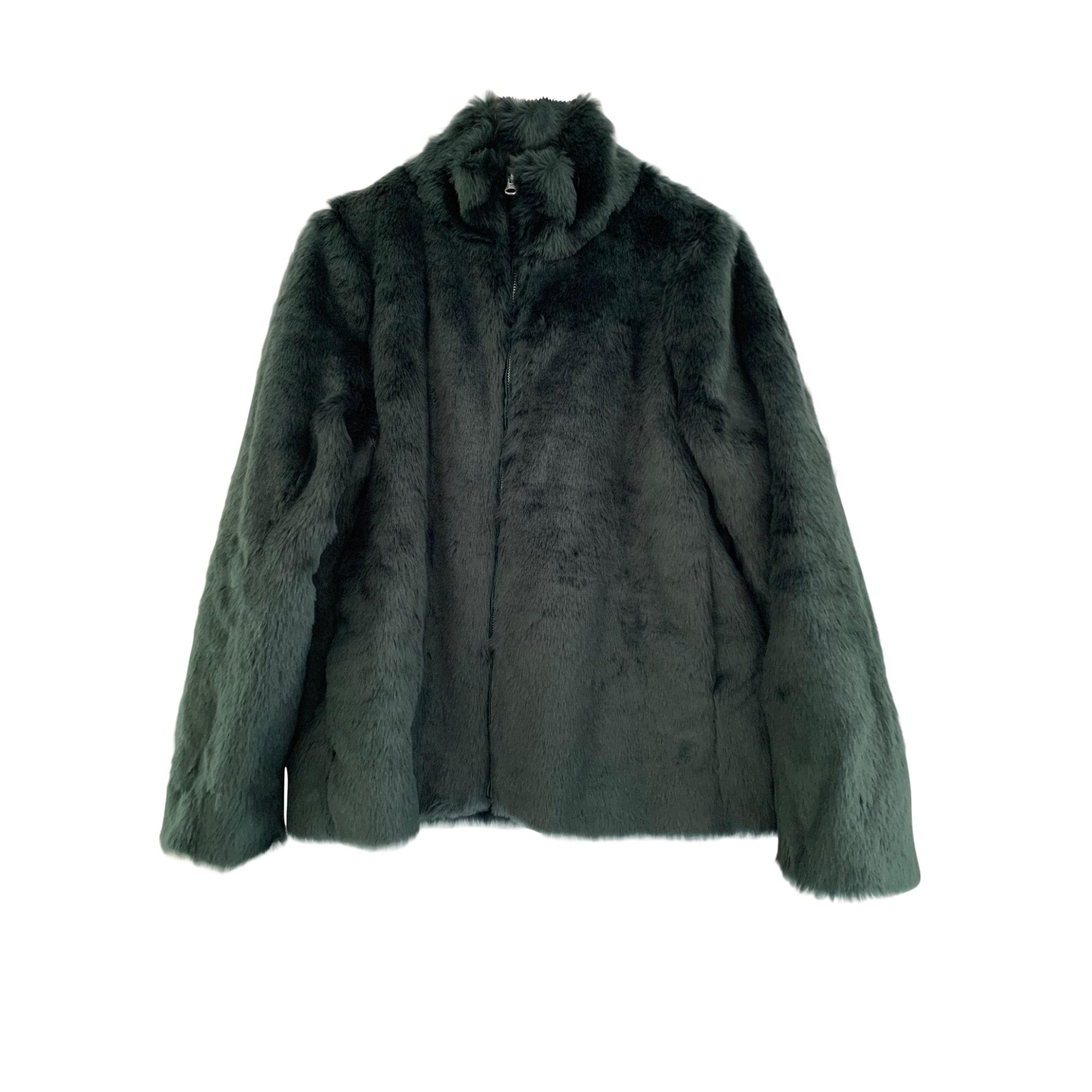 Manteau en fourrure GERARD DAREL Vert