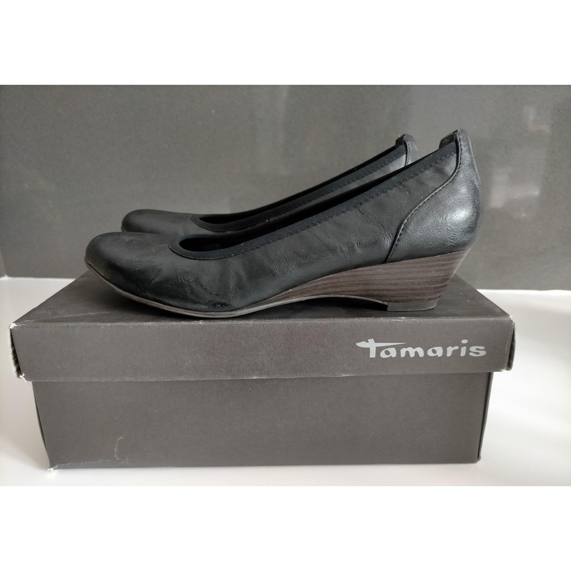 Ballet Flats TAMARIS Black