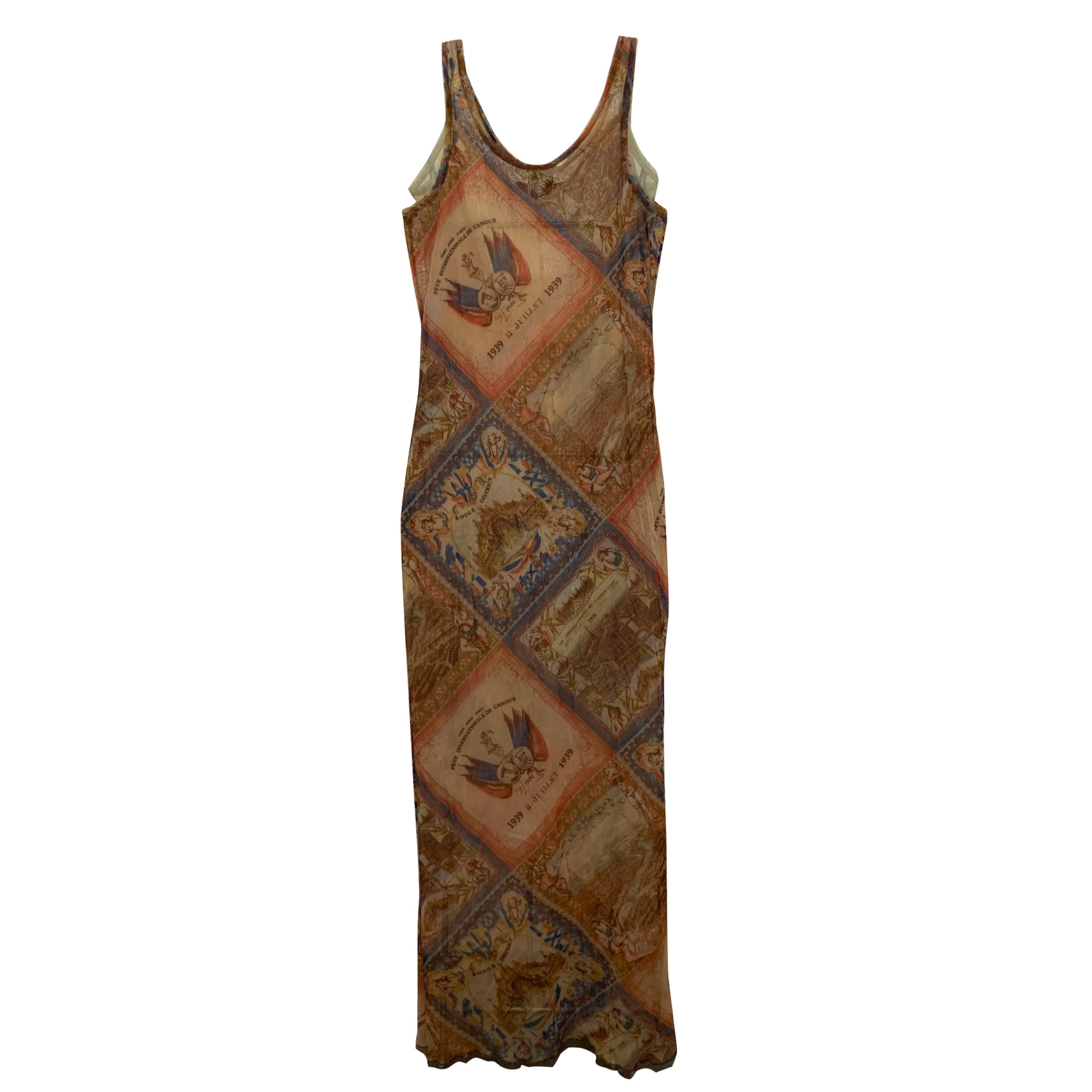 Robe longue JEAN PAUL GAULTIER Multicouleur