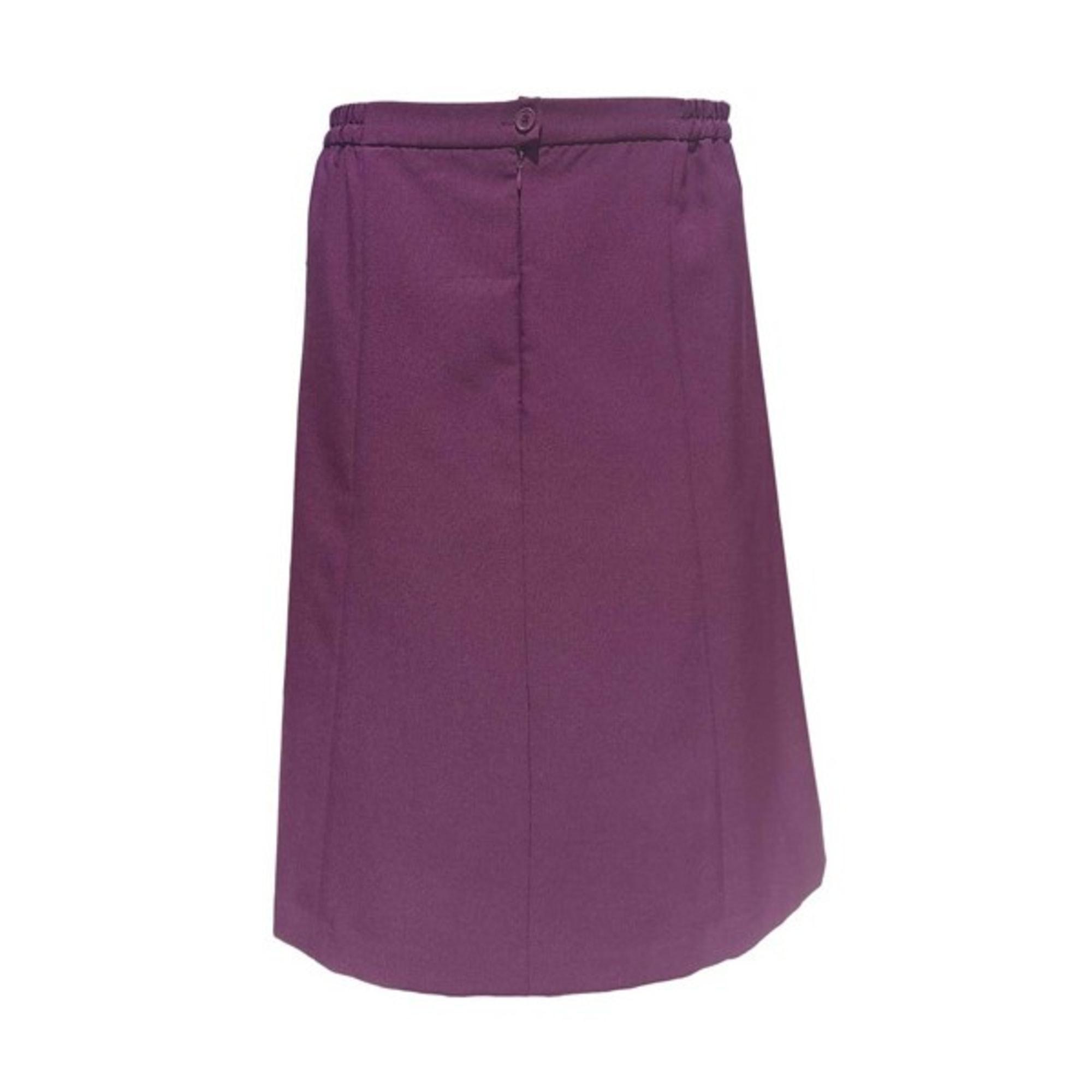 Jupe longue CHRISTINE LAURE Violet, mauve, lavande