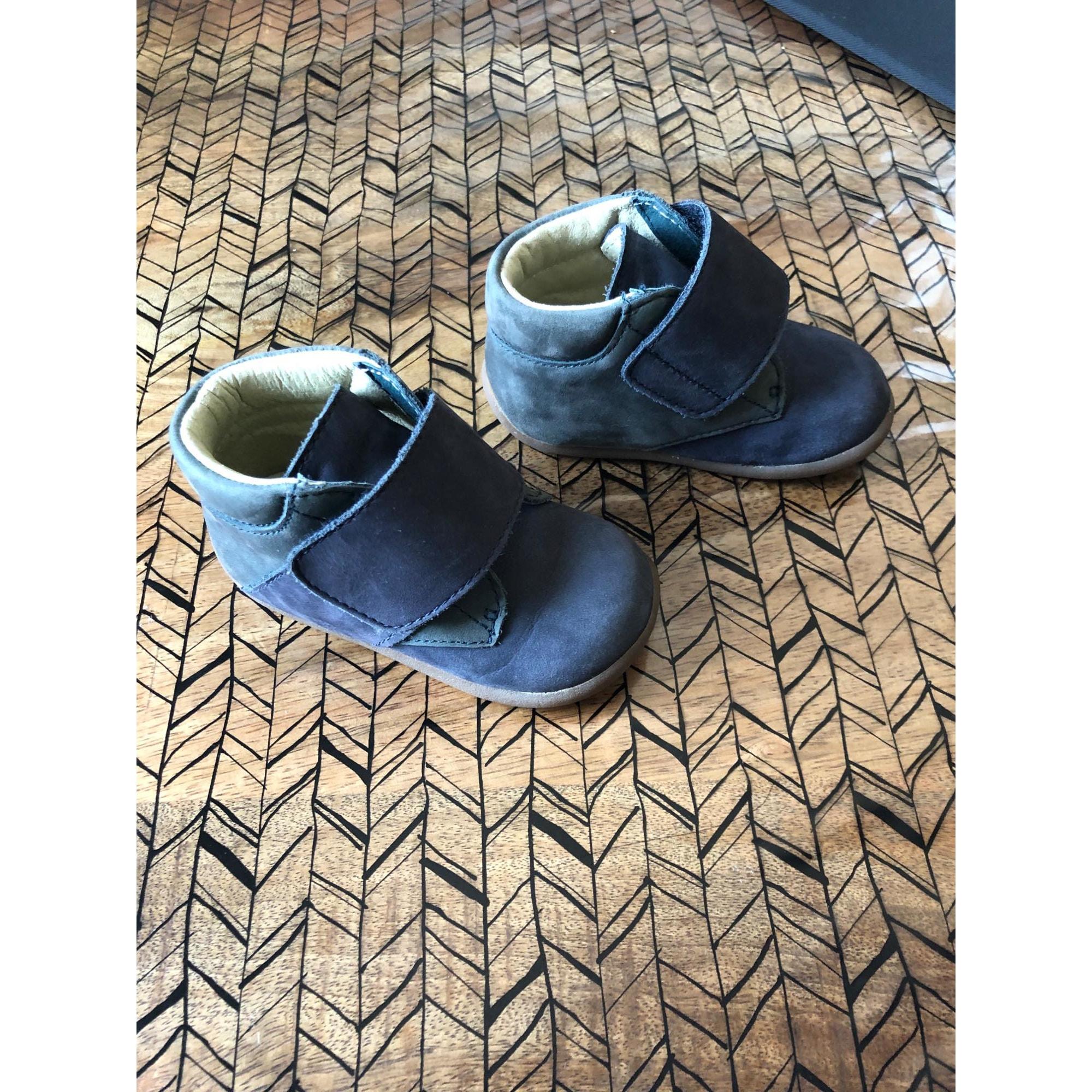 Velcro Shoes DU PAREIL AU MÊME DPAM Blue, navy, turquoise