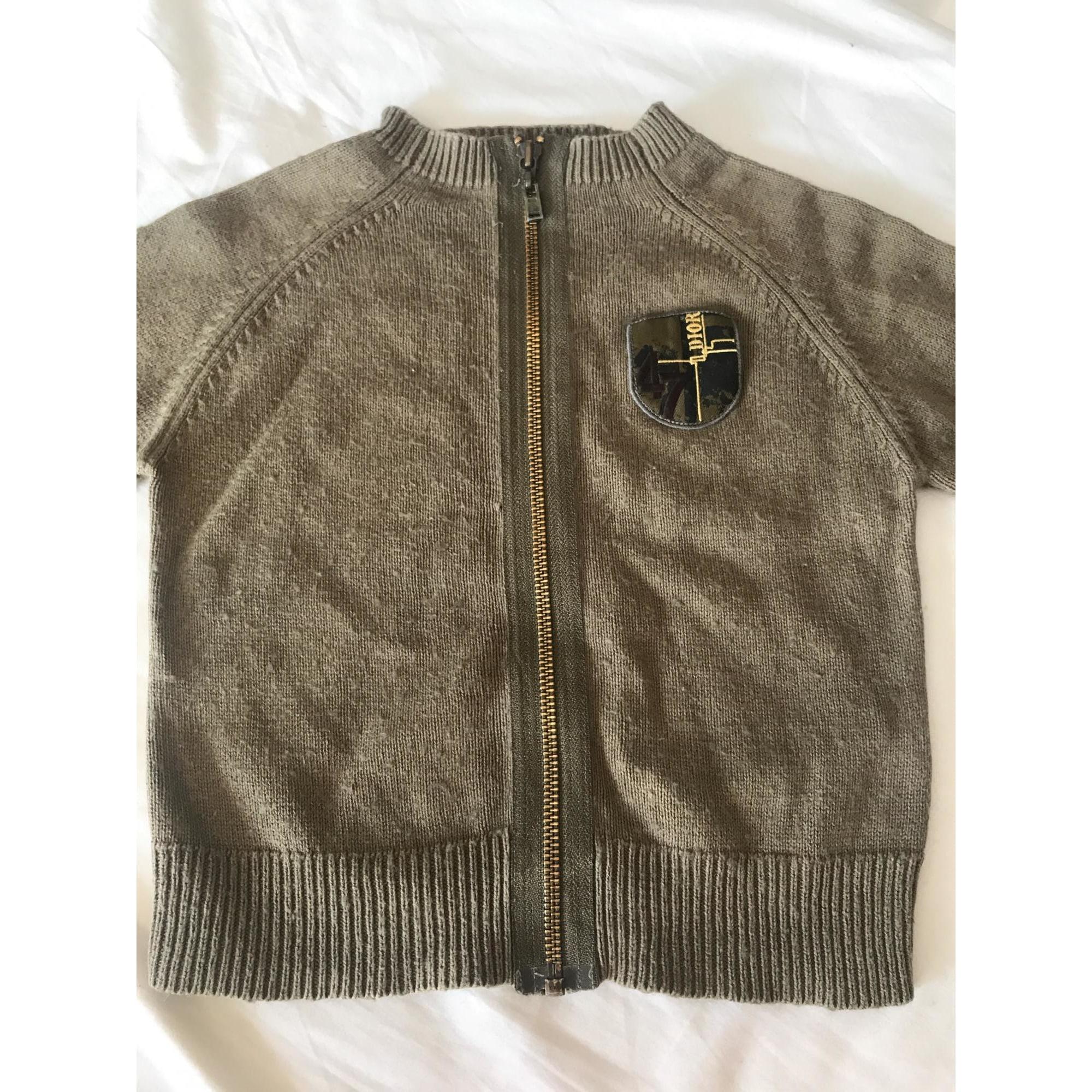 Jacket BABY DIOR Khaki