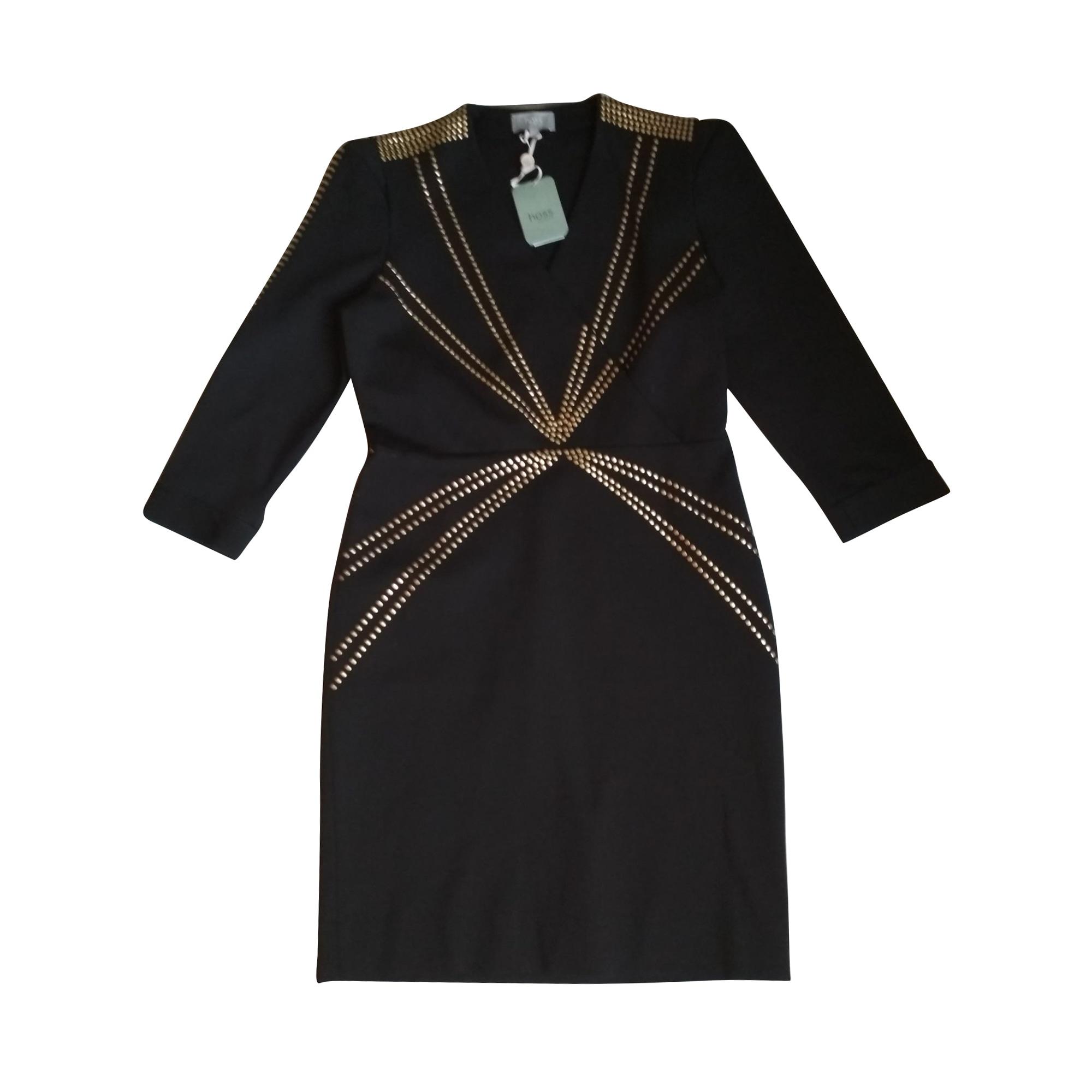 Robe mi-longue HOSS INTROPIA Noir