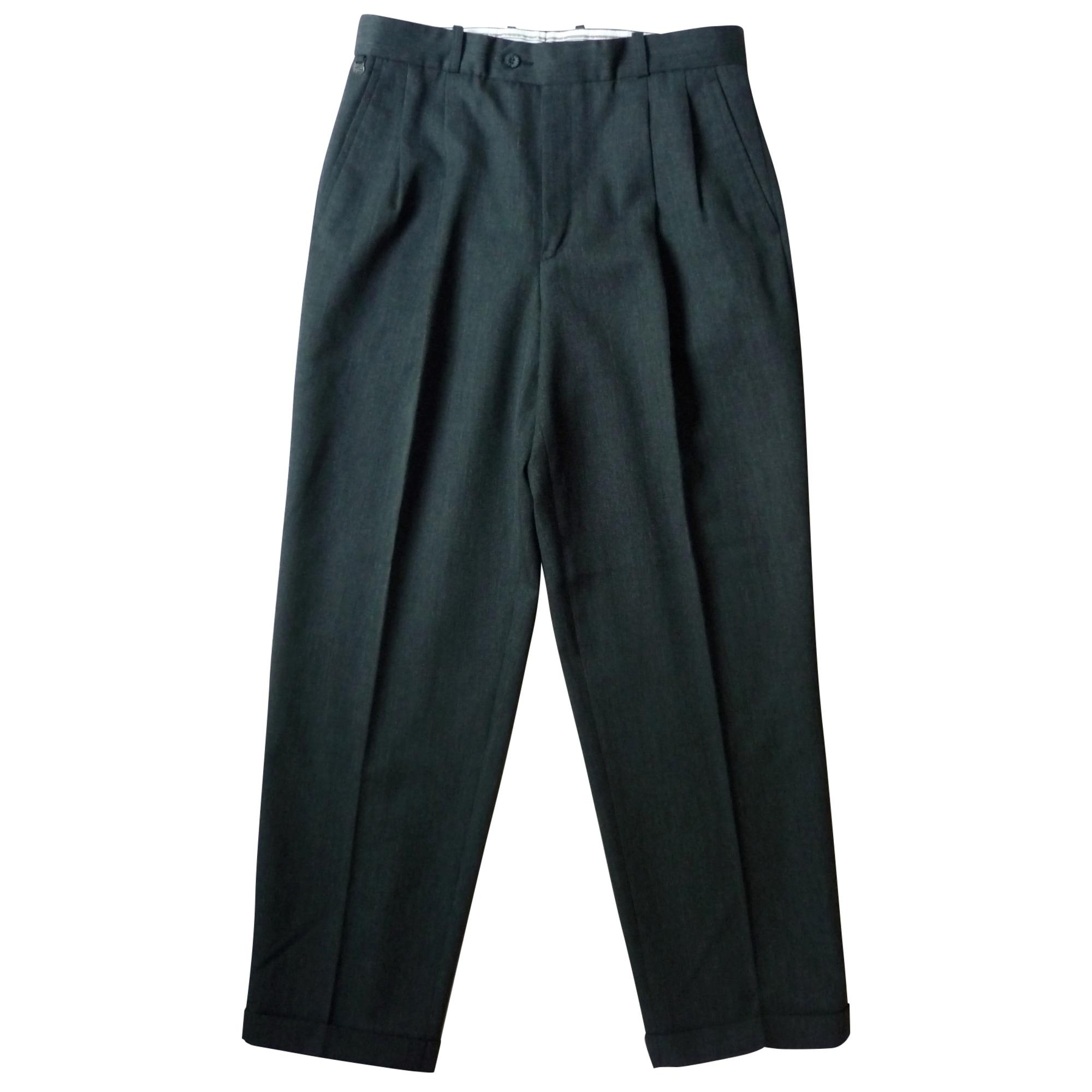 Pantalon droit LACOSTE Gris, anthracite