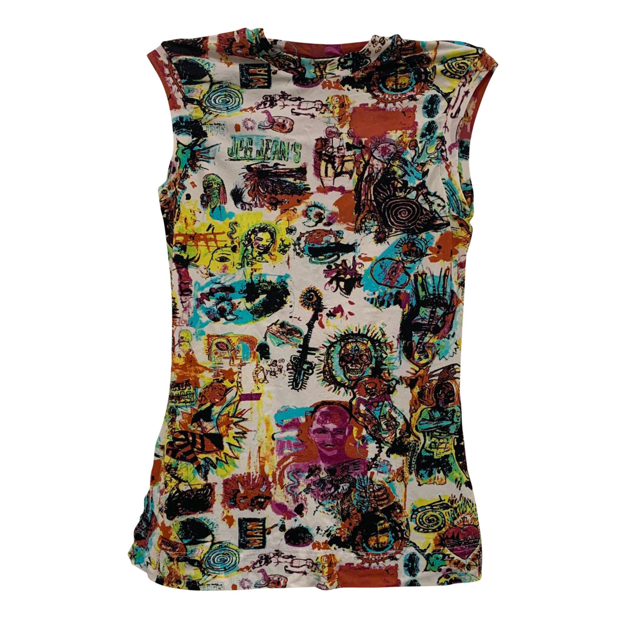 Top, tee-shirt JEAN PAUL GAULTIER Multicouleur