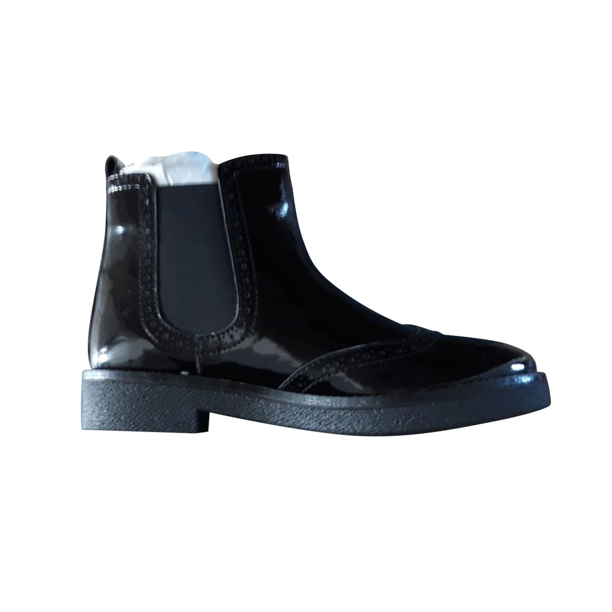 Bottines & low boots plates PEPE JEANS Noir