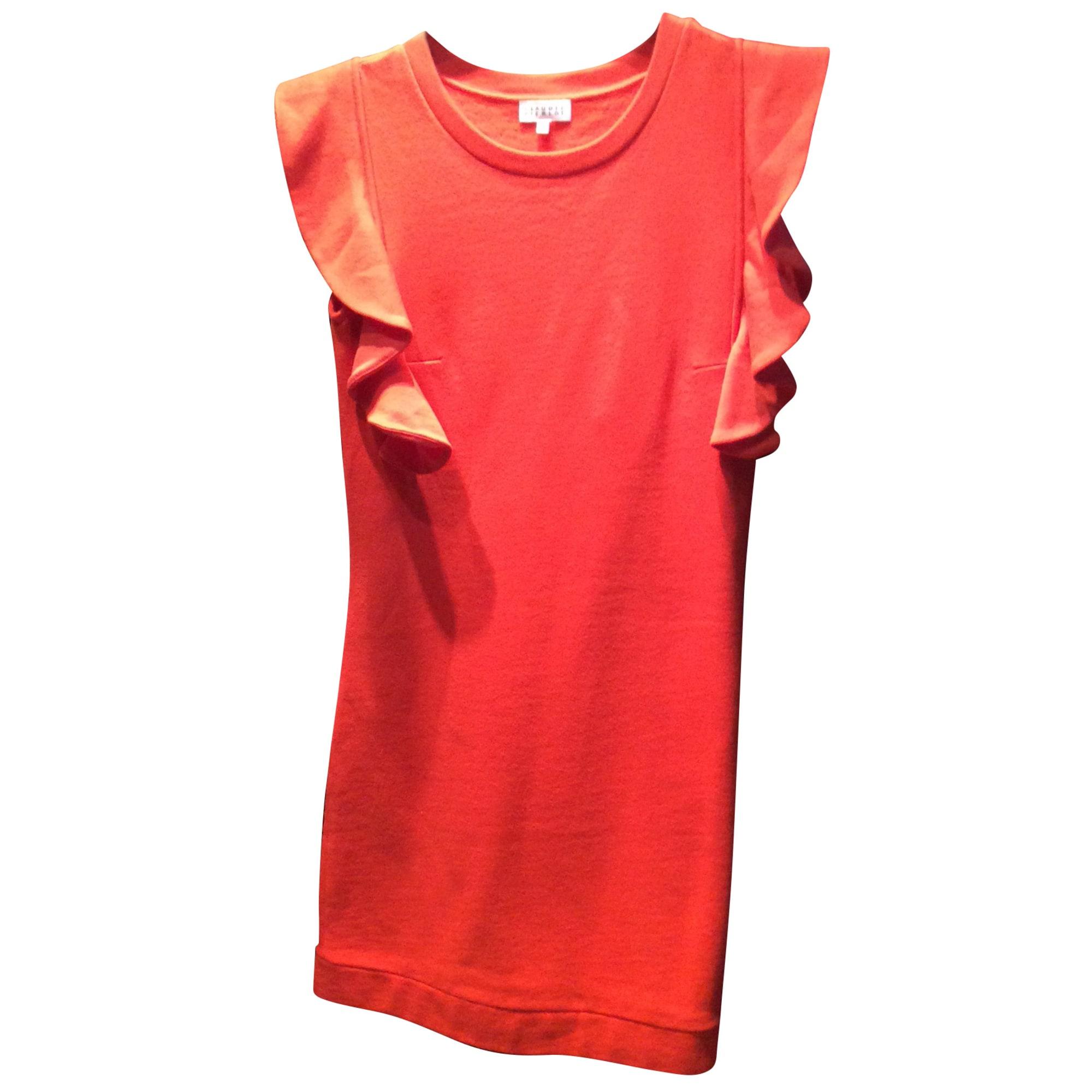 Robe courte CLAUDIE PIERLOT Orange