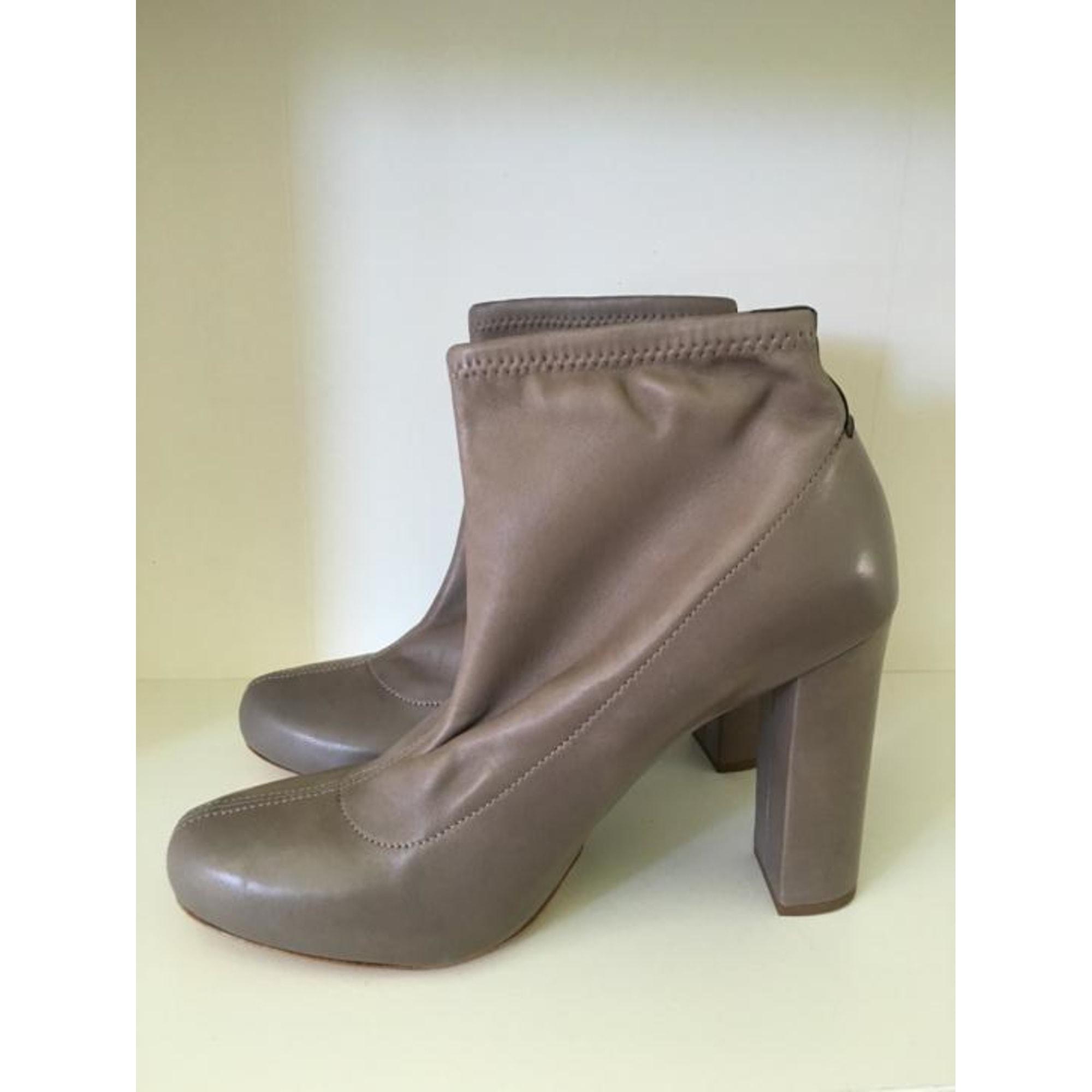 Bottines & low boots à talons CHLOÉ Gris, anthracite