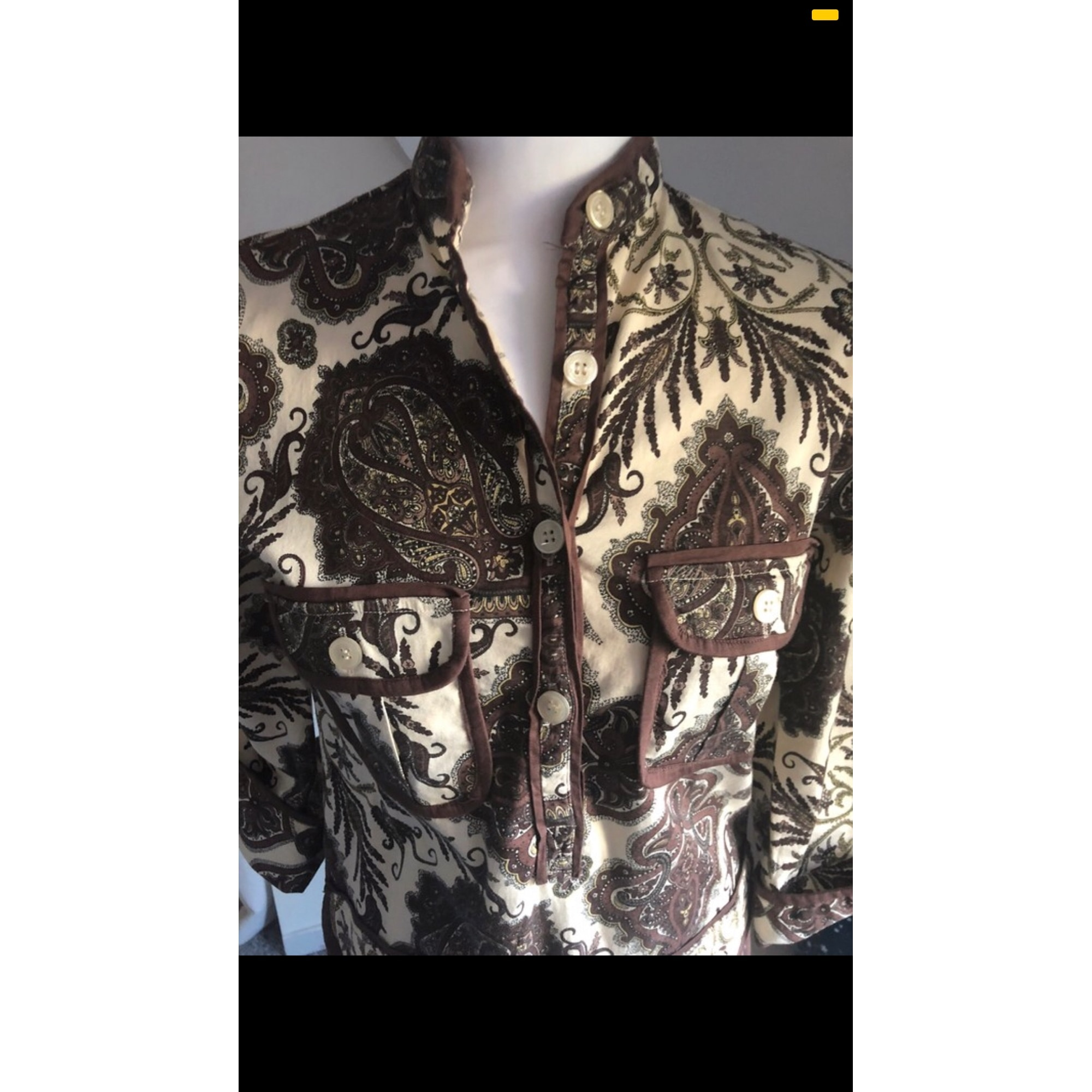 Robe courte ALMATRICHI Marron