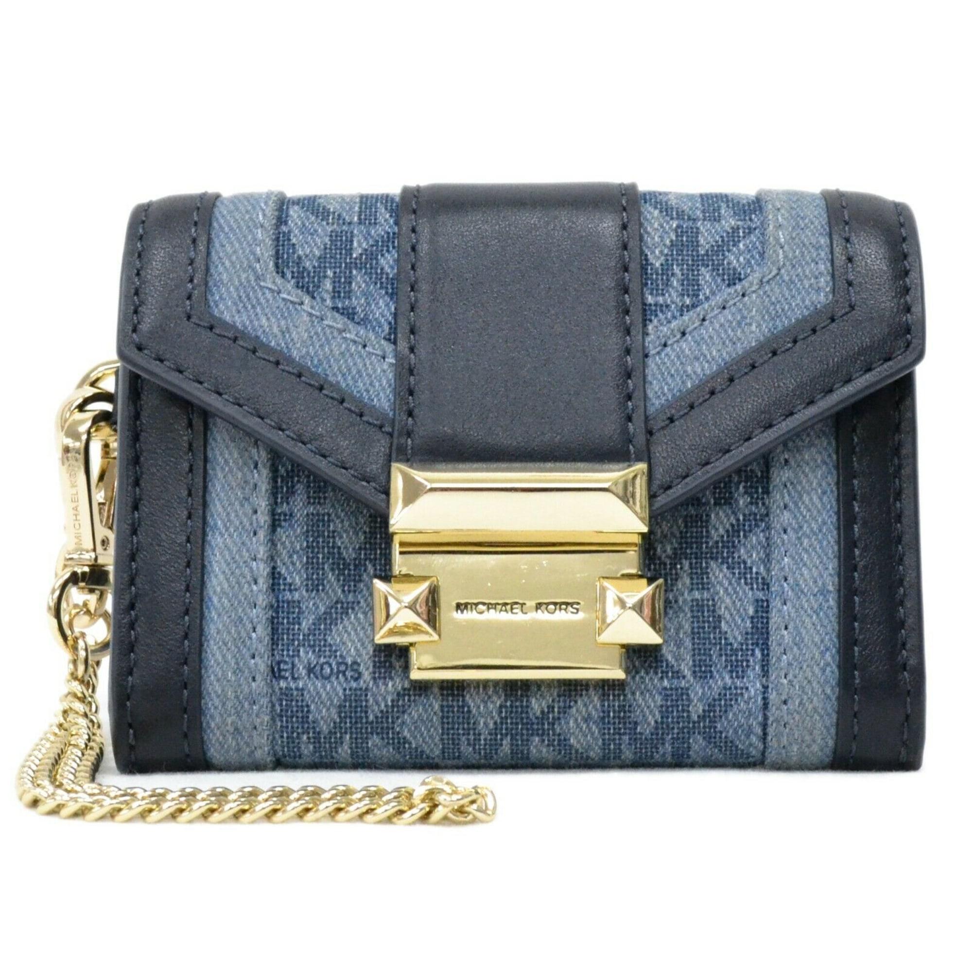 Portefeuille MICHAEL KORS Bleu, bleu marine, bleu turquoise