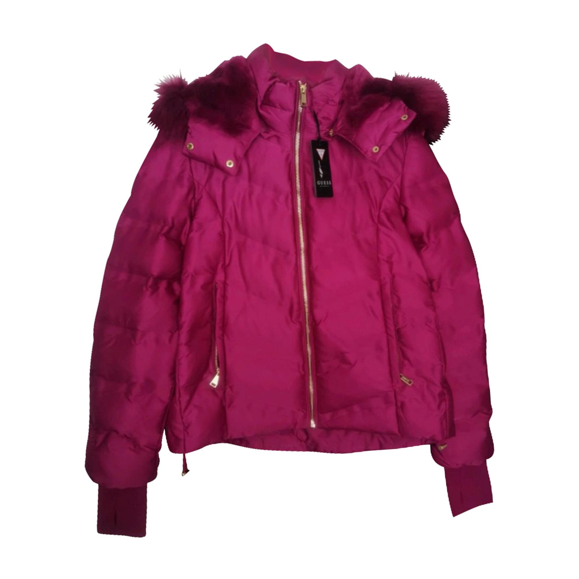 Down Jacket GUESS Pink, fuchsia, light pink