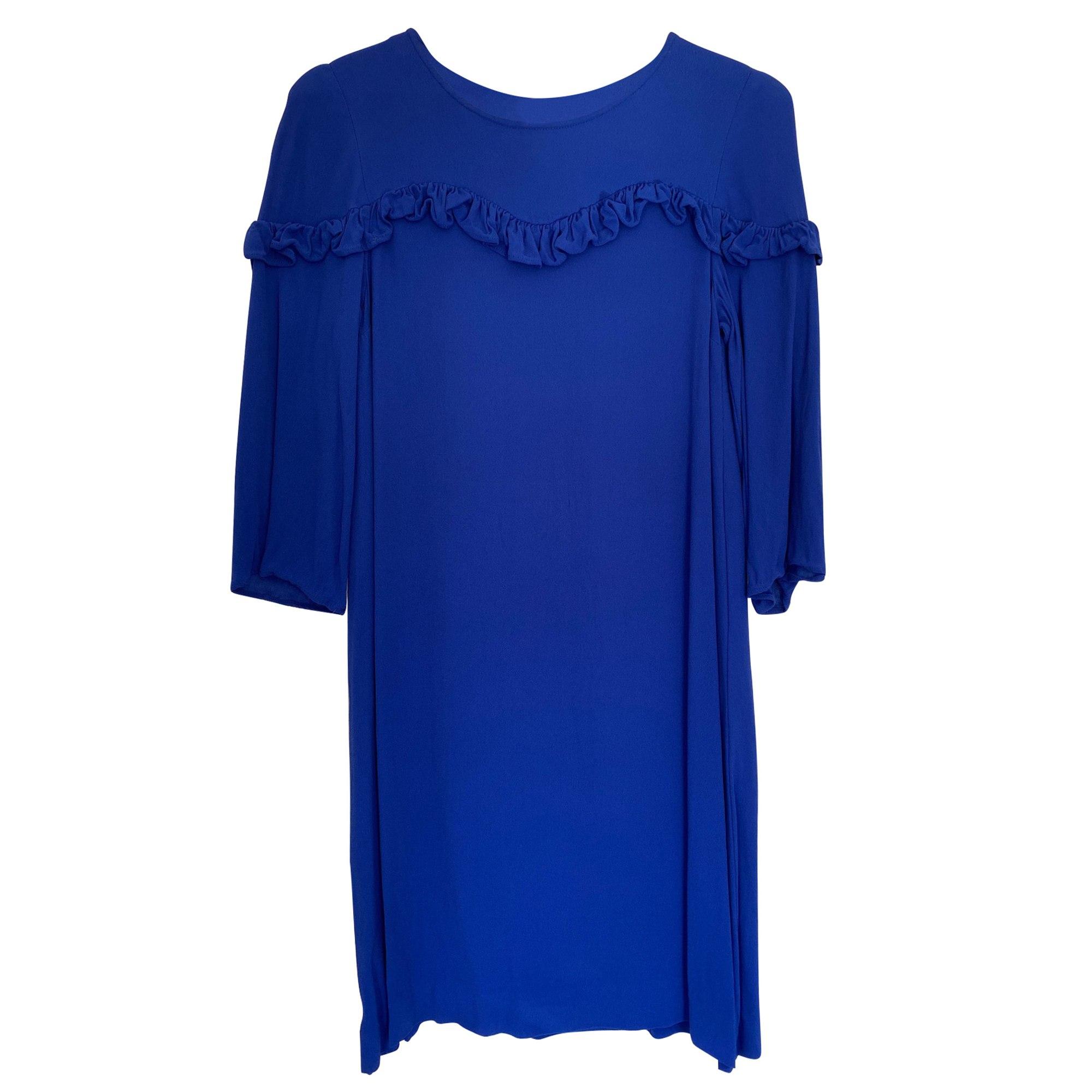 Mini Dress CLAUDIE PIERLOT Blue, navy, turquoise