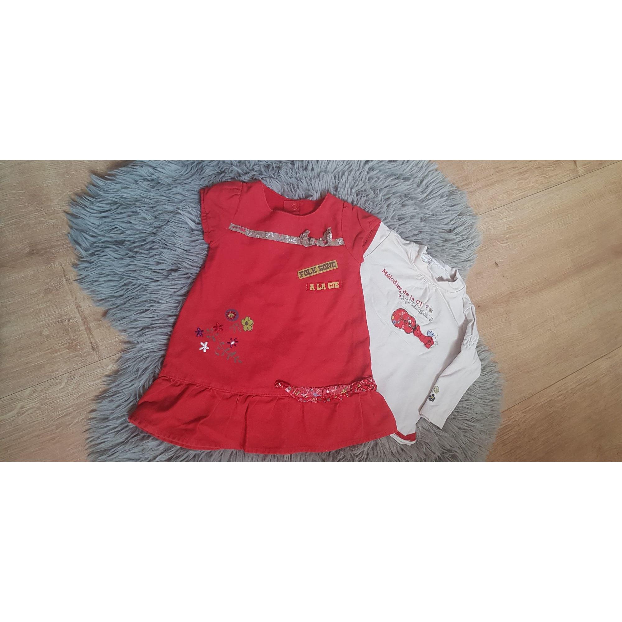 Ensemble & Combinaison pantalon LA COMPAGNIE DES PETITS Rouge, bordeaux