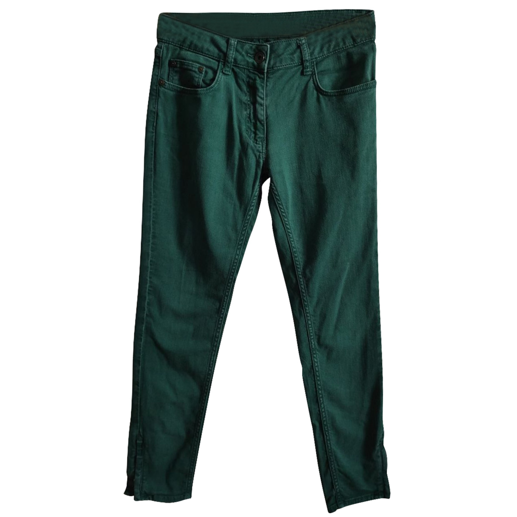 Straight Leg Jeans CLAUDIE PIERLOT Green