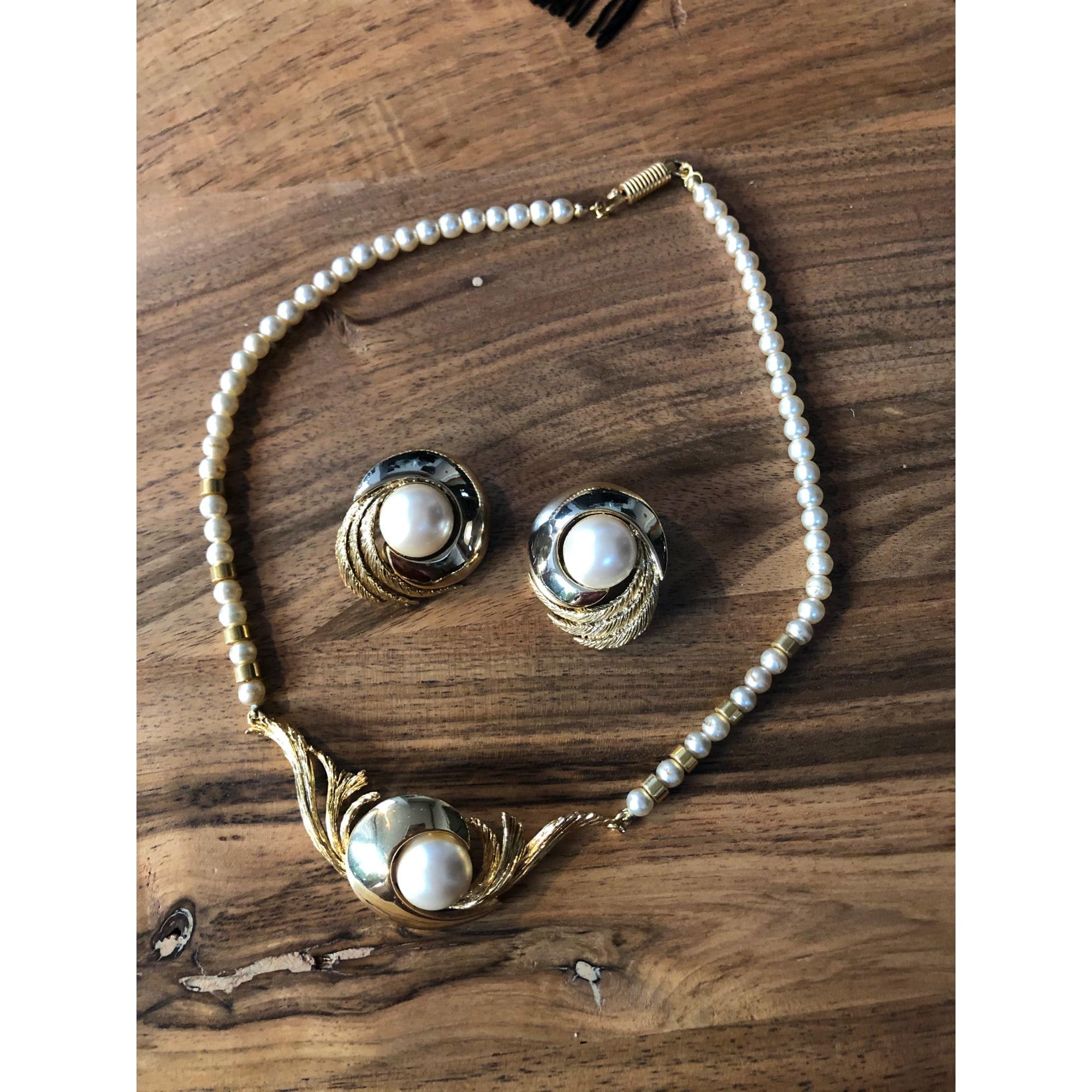 Parure bijoux ORENA Doré, bronze, cuivre