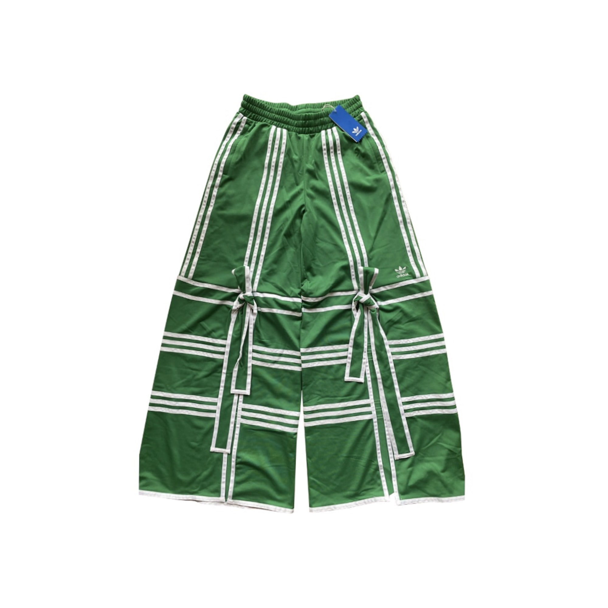 Pantalon large ADIDAS Vert