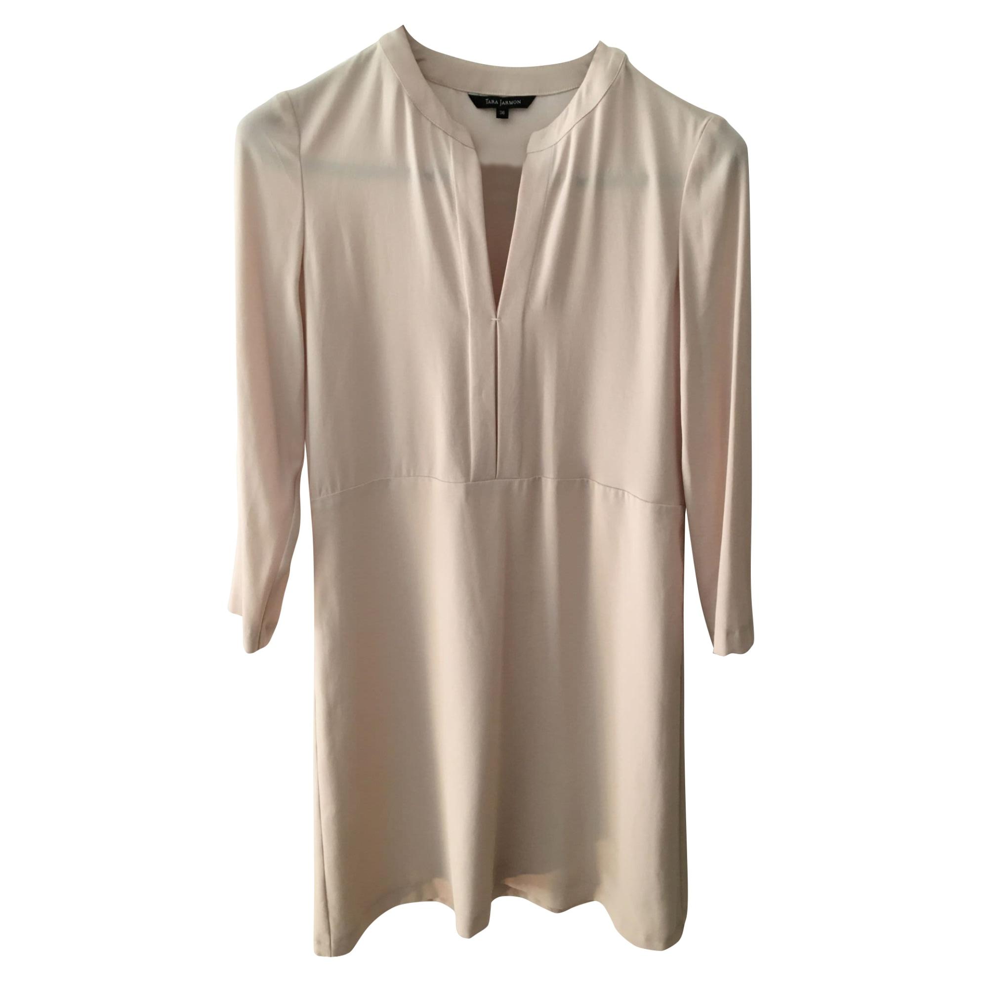 Robe courte TARA JARMON Beige, camel
