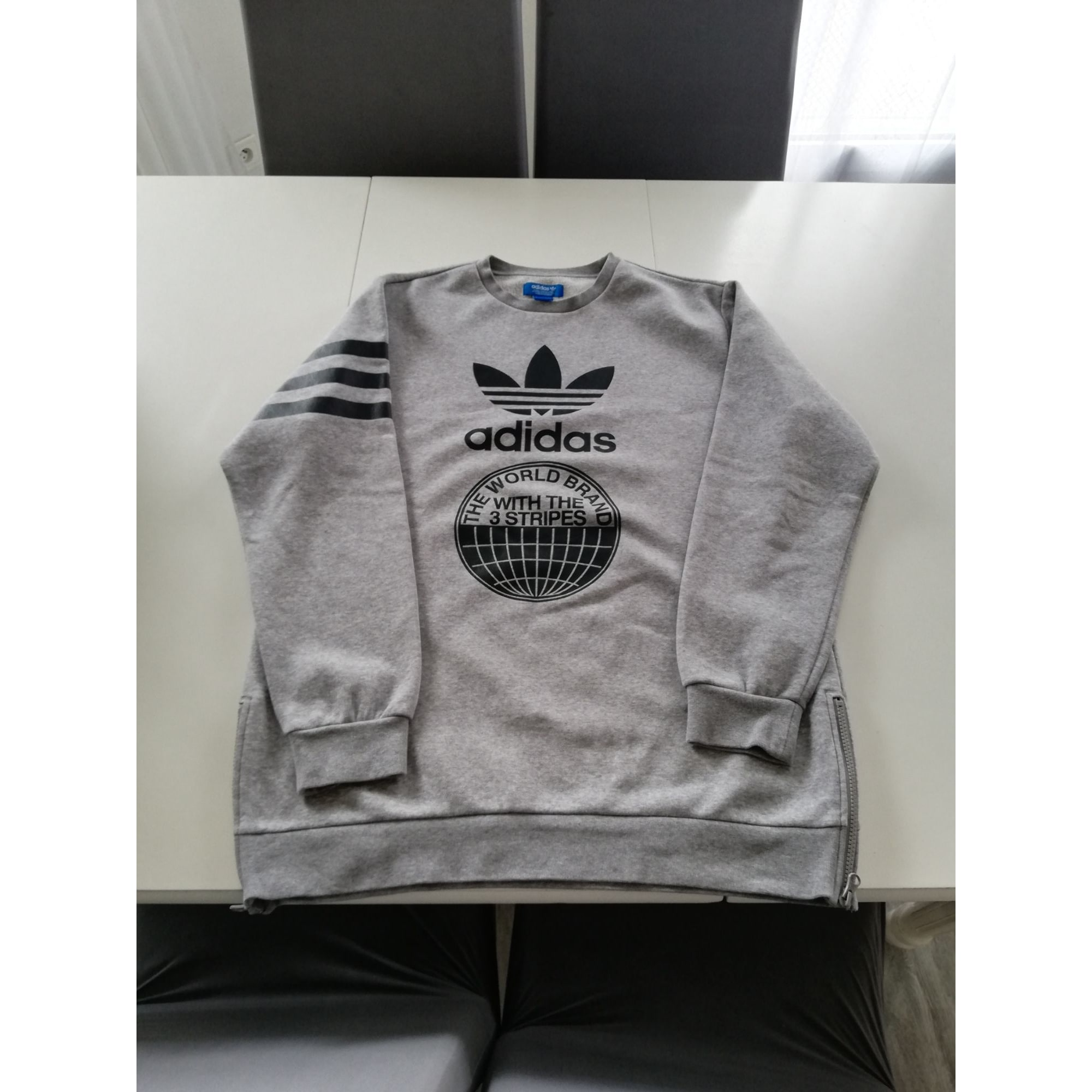 Sweat ADIDAS Gris, anthracite