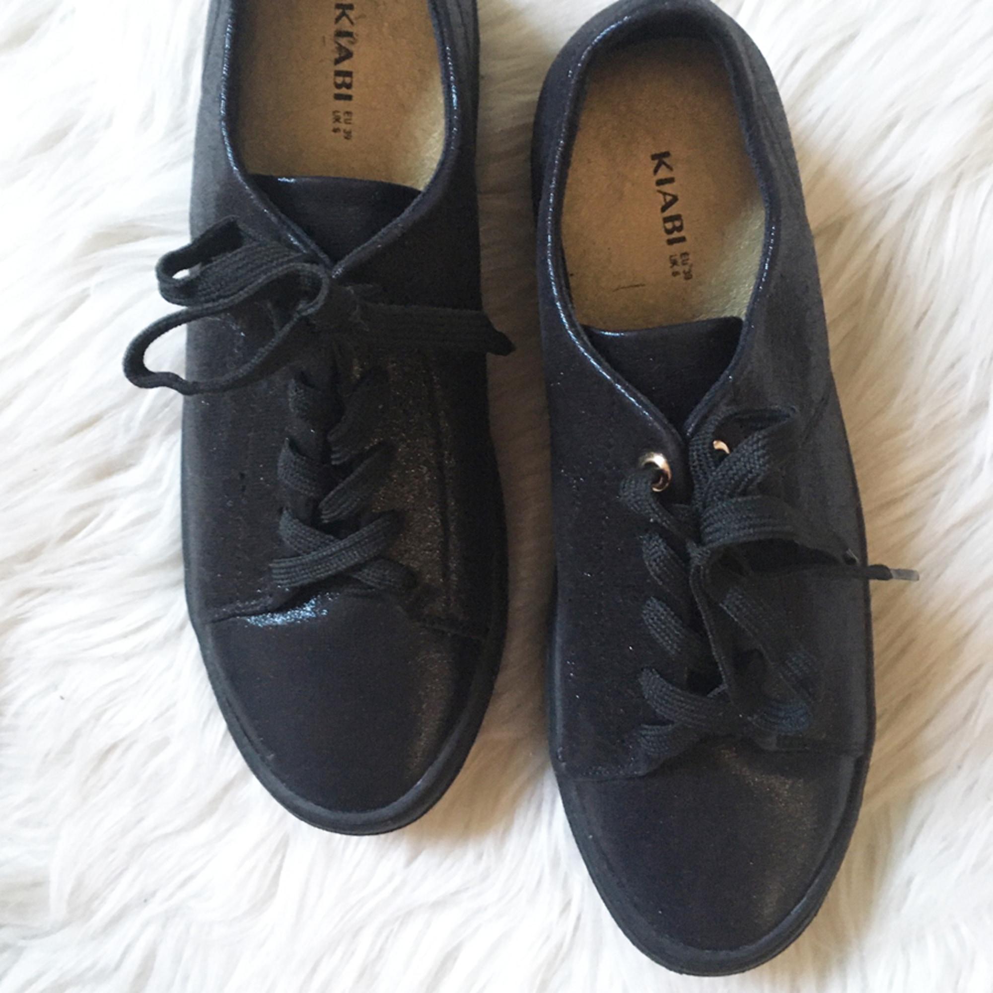 Chaussures à lacets  KIABI Noir