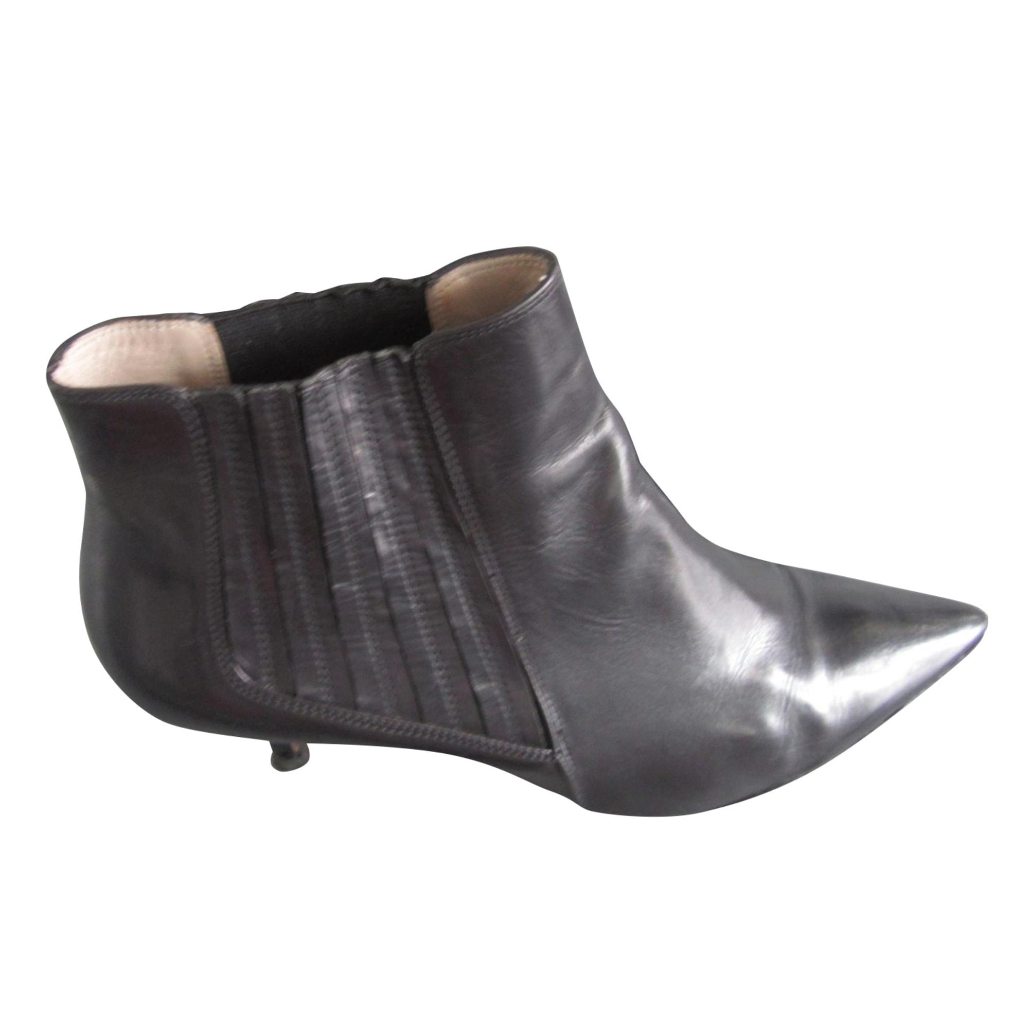 Bottines & low boots à talons PAULE KA Noir