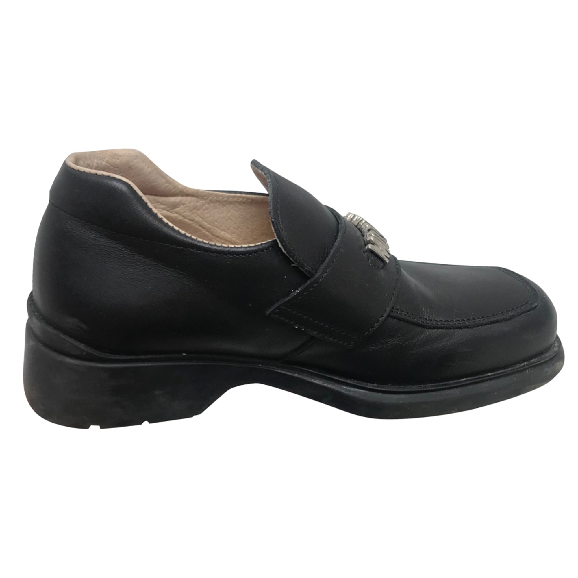 Loafers MOSCHINO Black