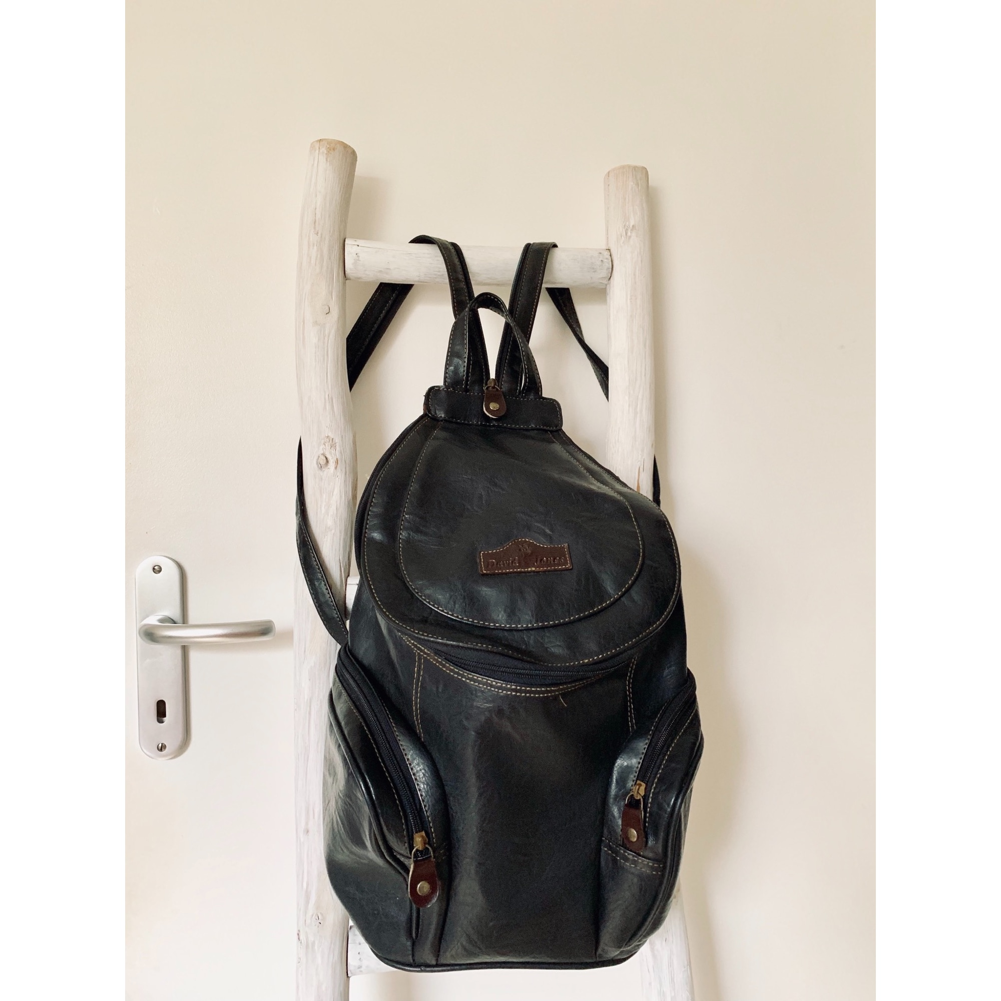 Backpack MARQUE INCONNUE Black
