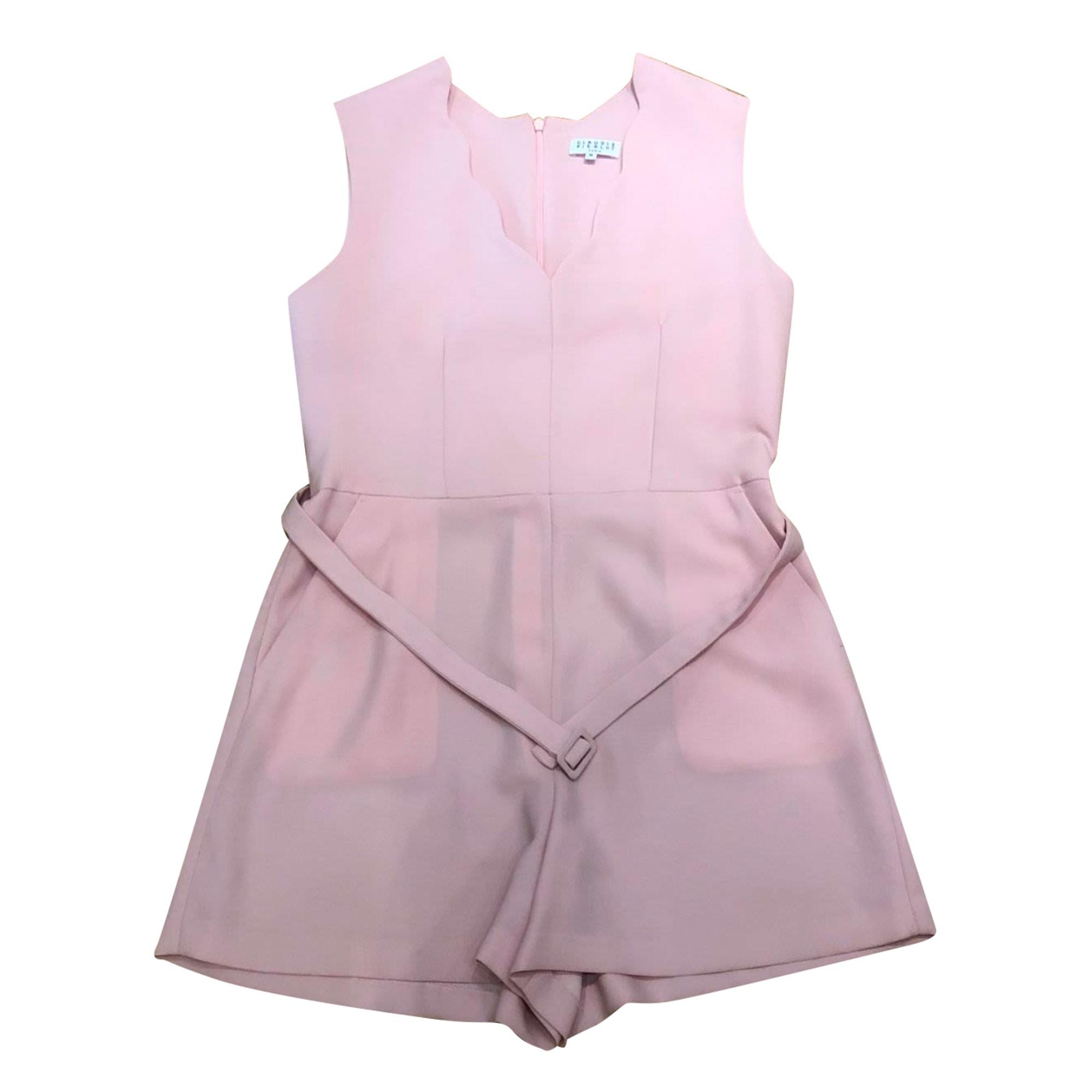 Playsuit CLAUDIE PIERLOT Pink, fuchsia, light pink