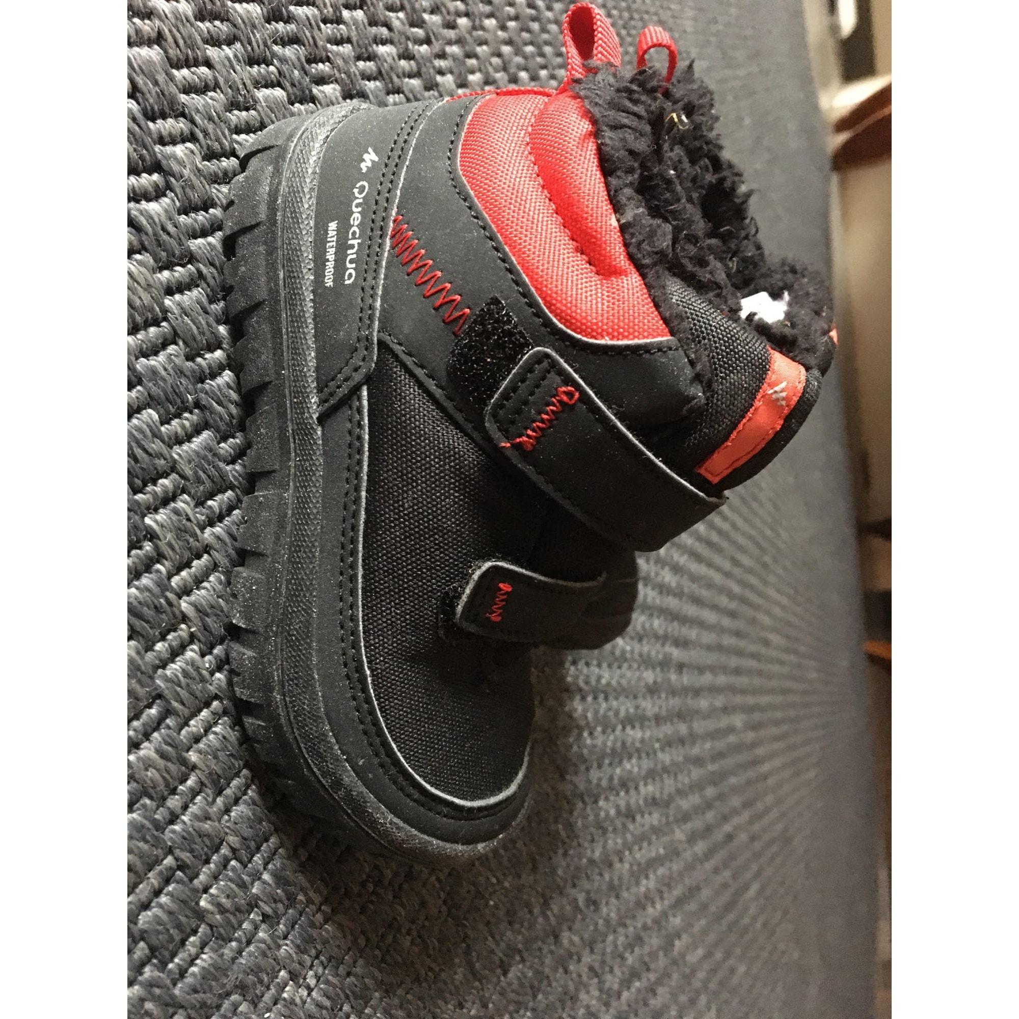 Ankle Boots QUECHUA Black