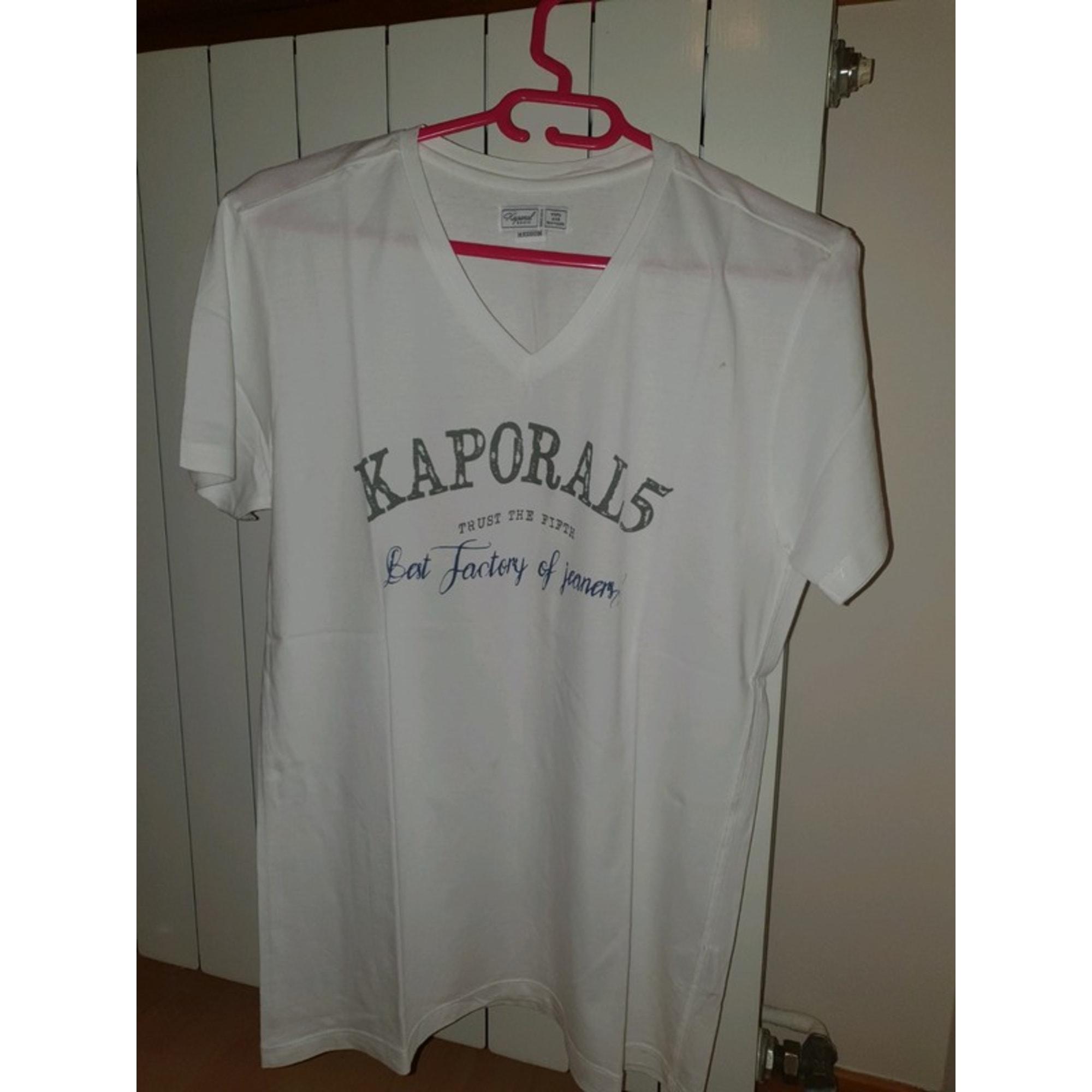 Tee-shirt KAPORAL Blanc, blanc cassé, écru