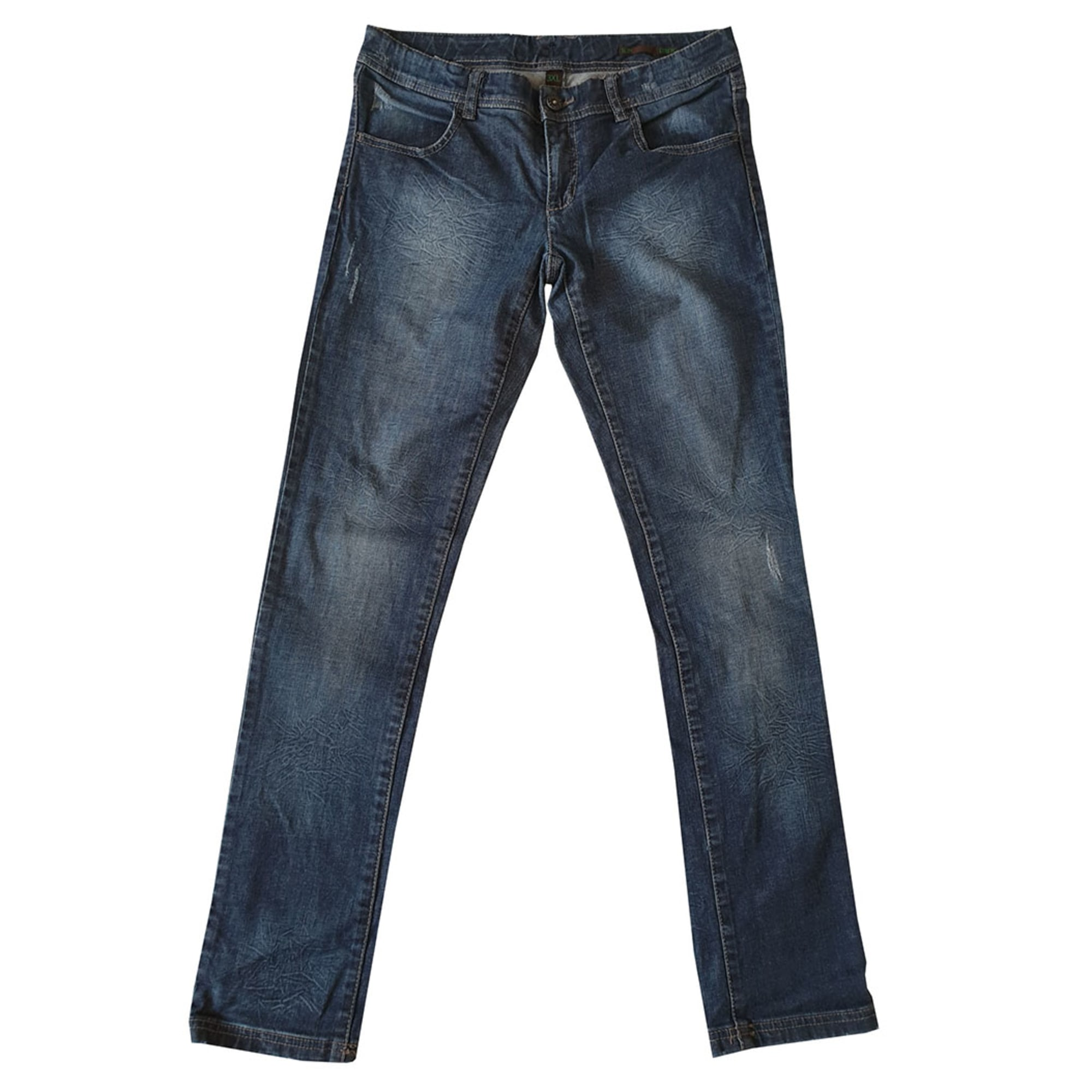 Jean slim  UNITED COLORS OF BENETTON Bleu, bleu marine, bleu turquoise