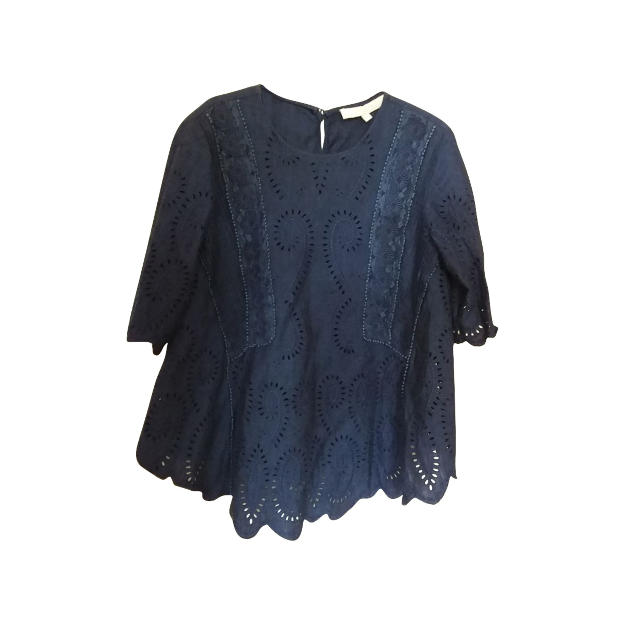 Top, tee-shirt VANESSA BRUNO Bleu, bleu marine, bleu turquoise