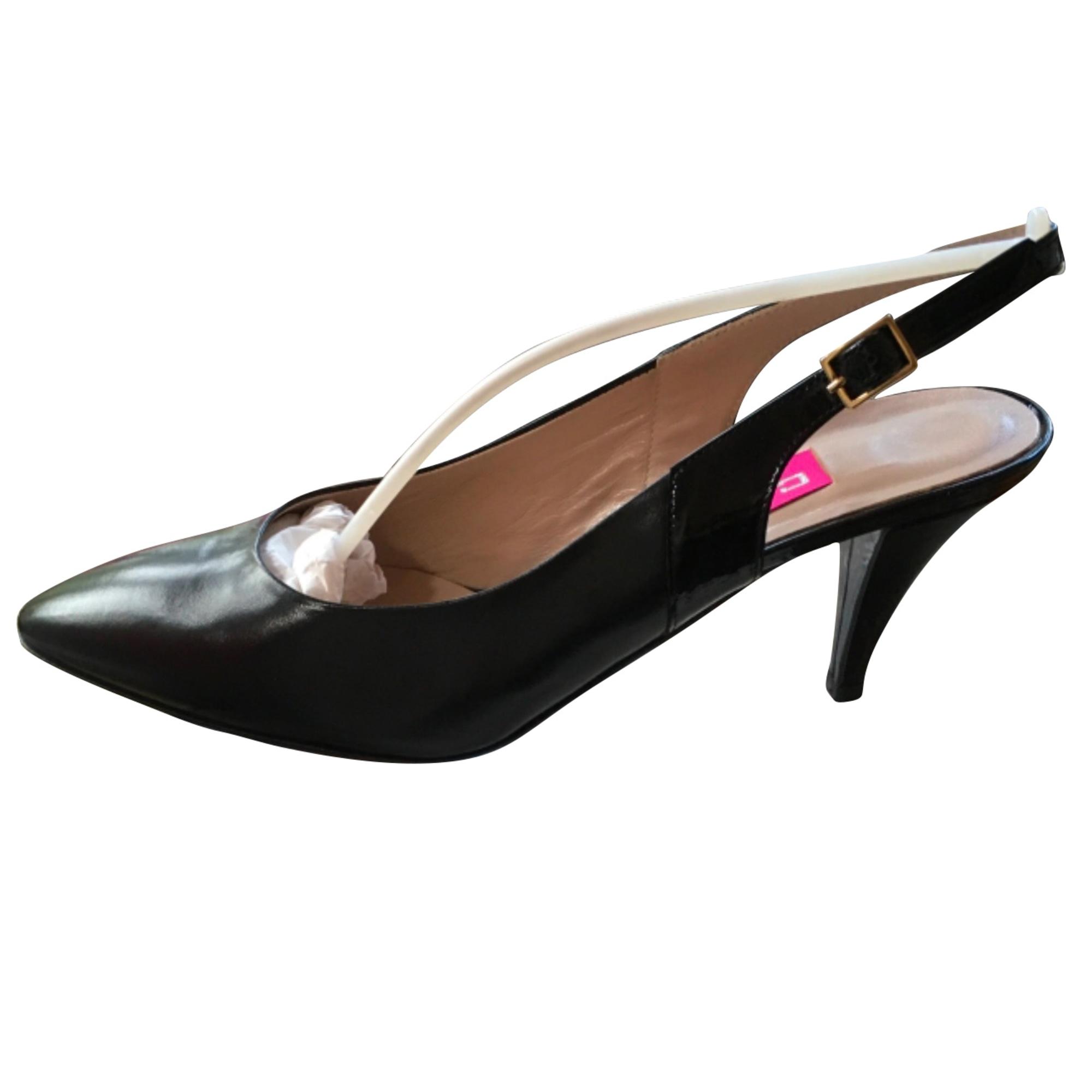 Sandales à talons CAREL Noir