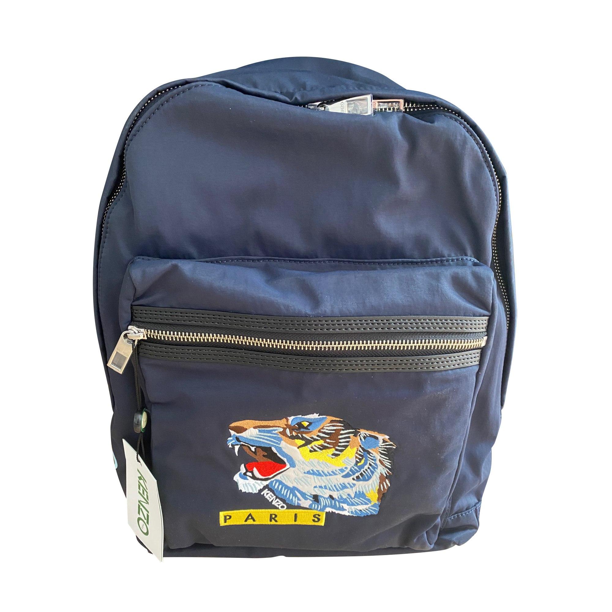 Backpack KENZO Blue, navy, turquoise