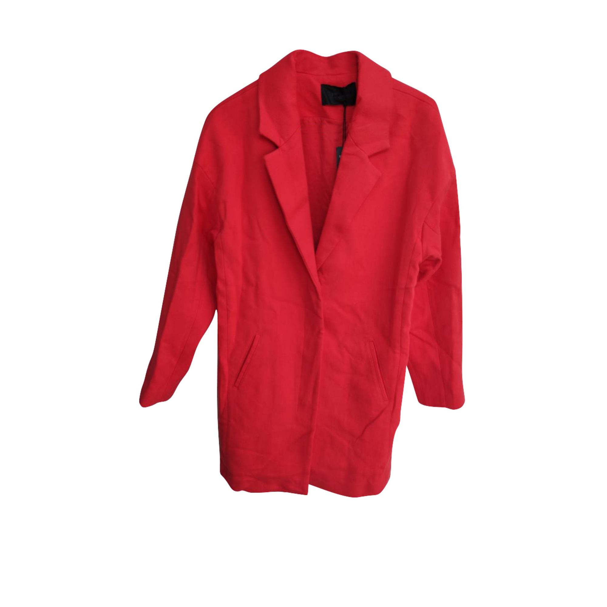 Manteau IKKS Rouge, bordeaux