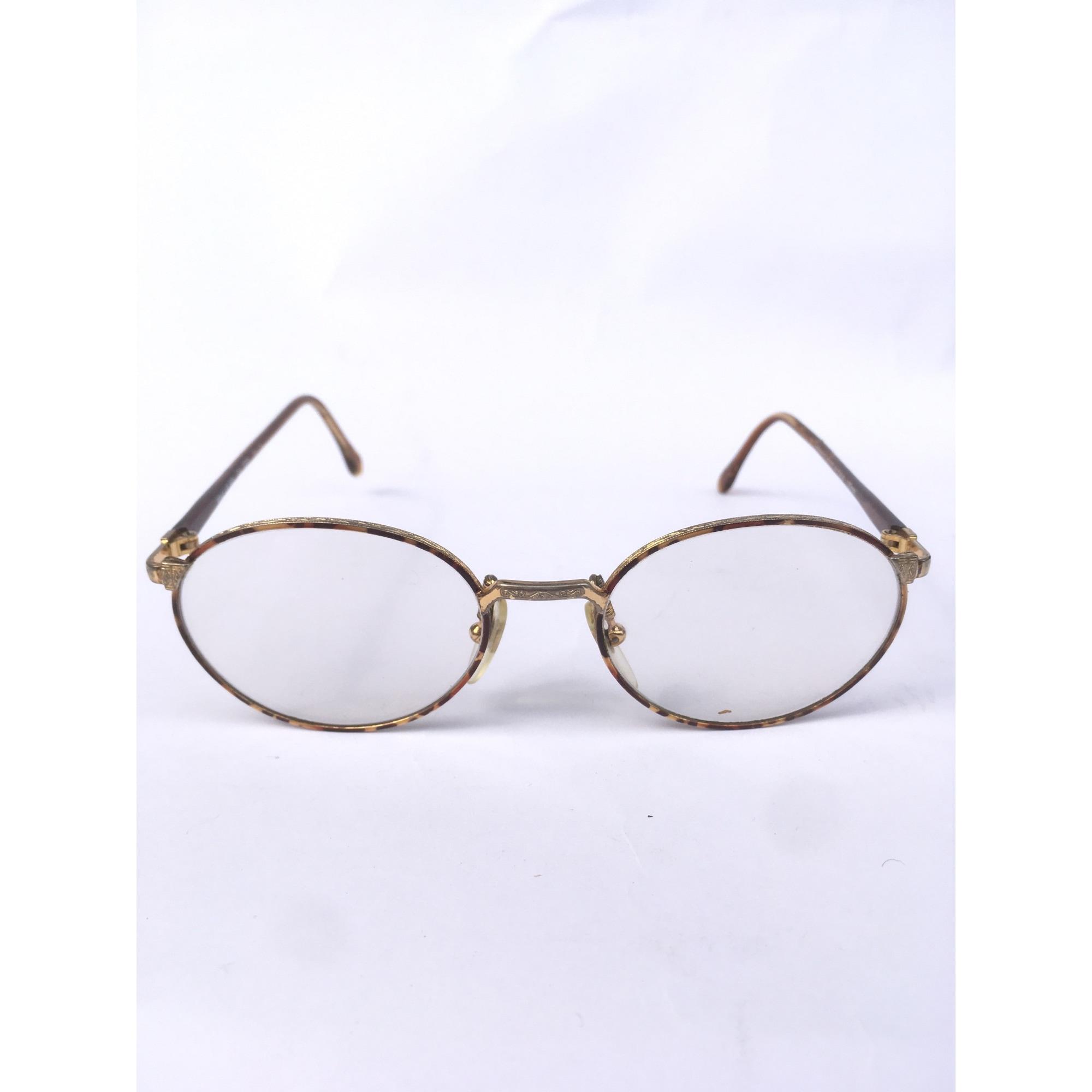 Monture de lunettes VINTAGE Doré, bronze, cuivre