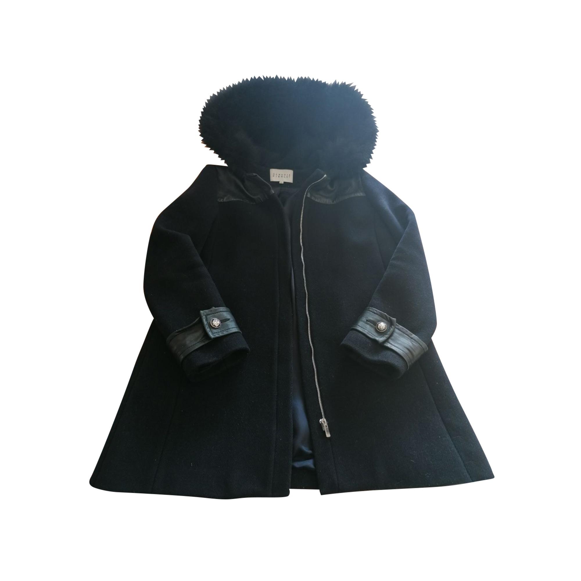 Coat CLAUDIE PIERLOT Blue, navy, turquoise