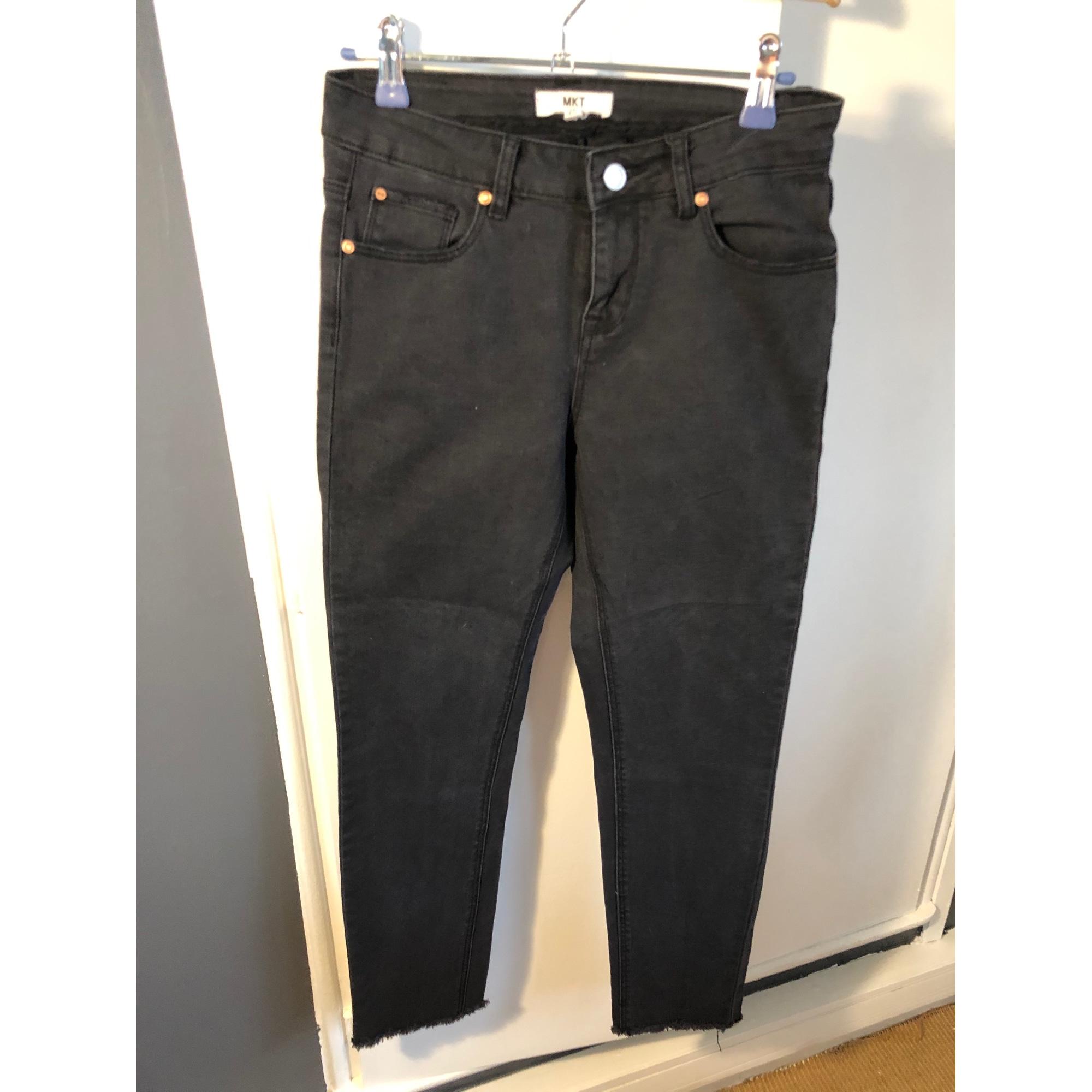 Jeans slim MKT Noir