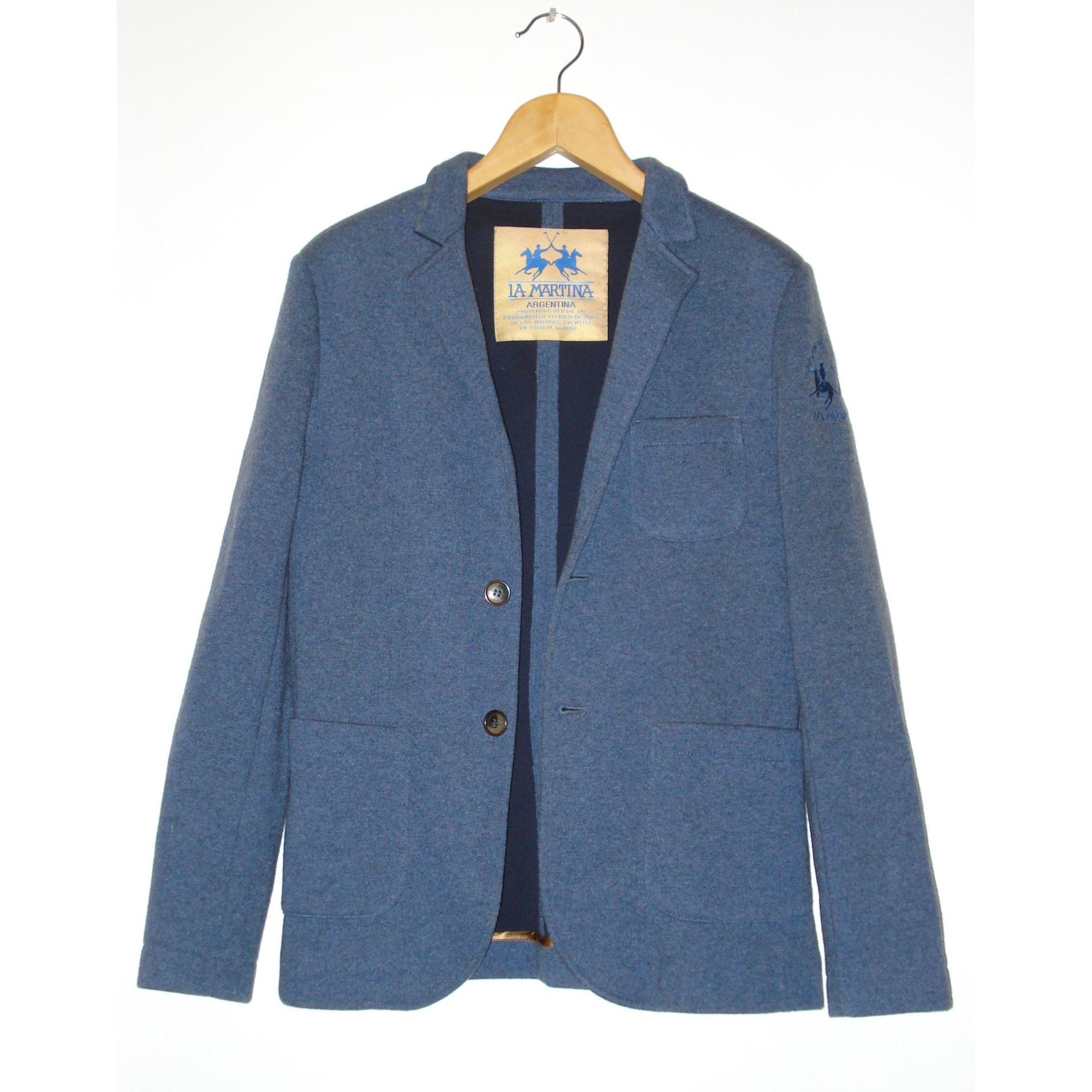 Veste LA MARTINA Bleu, bleu marine, bleu turquoise