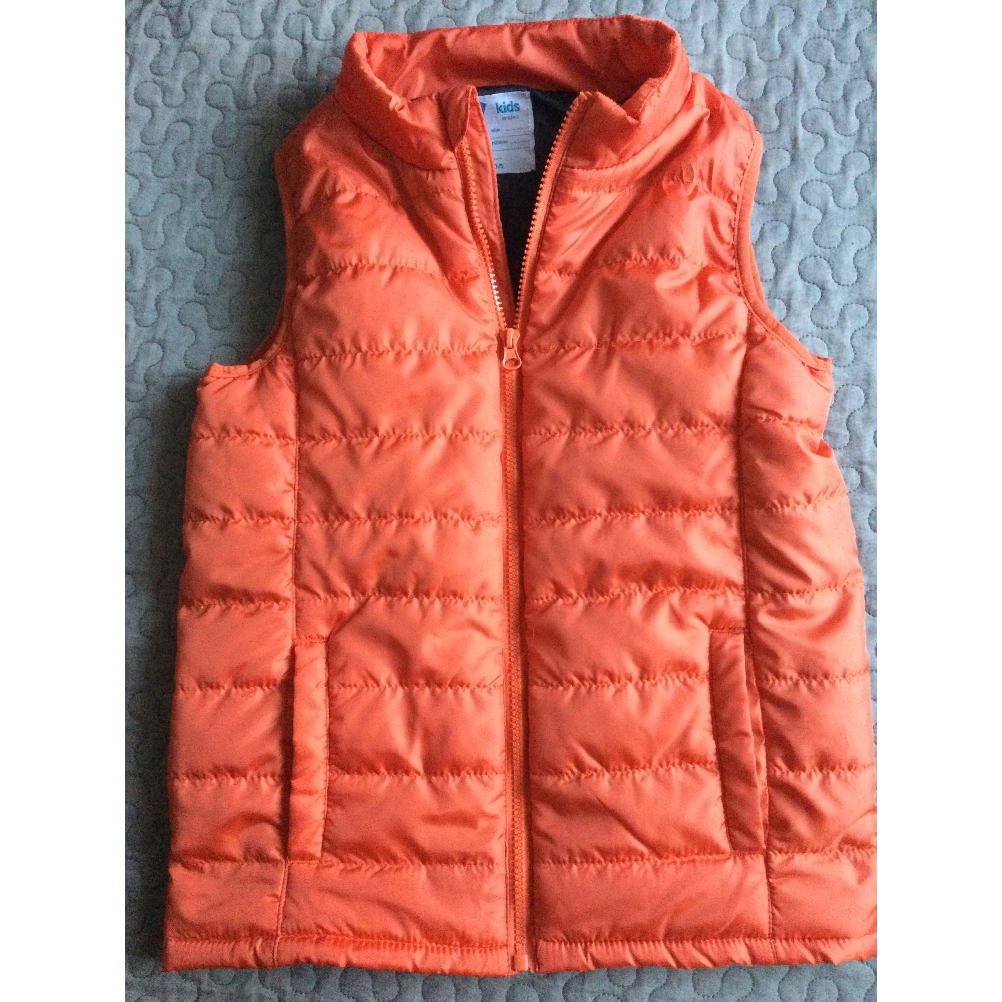 Vest, Cardigan GÉMO Orange