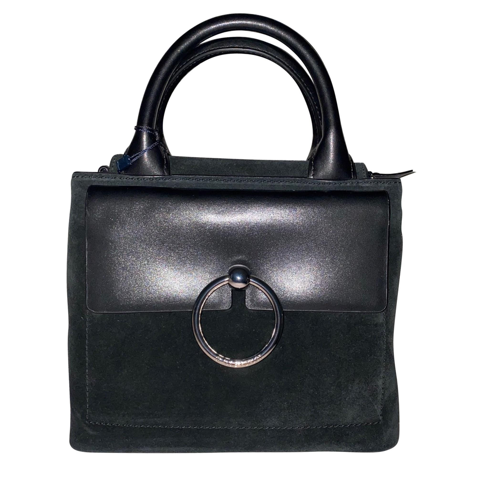Leather Shoulder Bag CLAUDIE PIERLOT Black