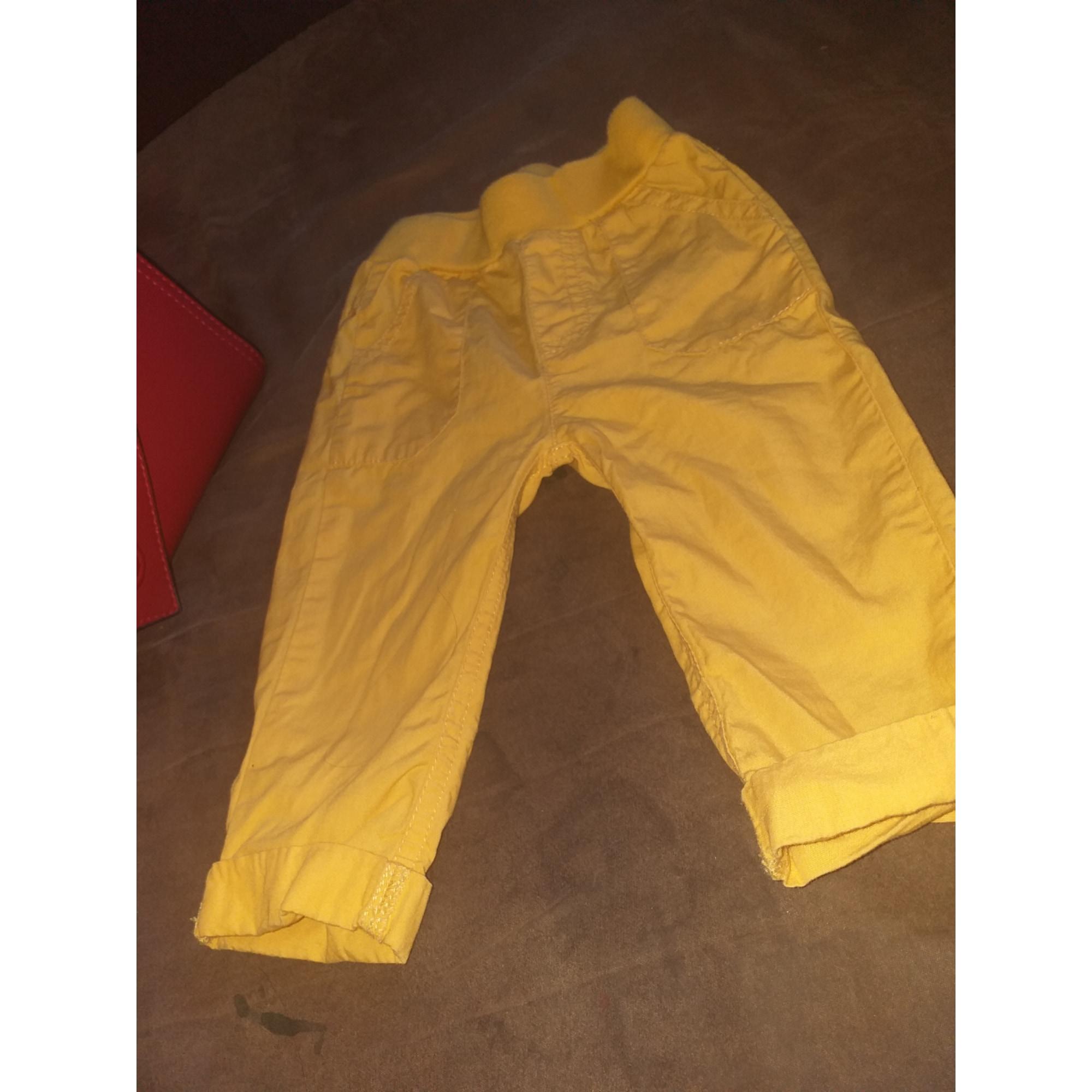Pantalon BOITE A MALICE Jaune