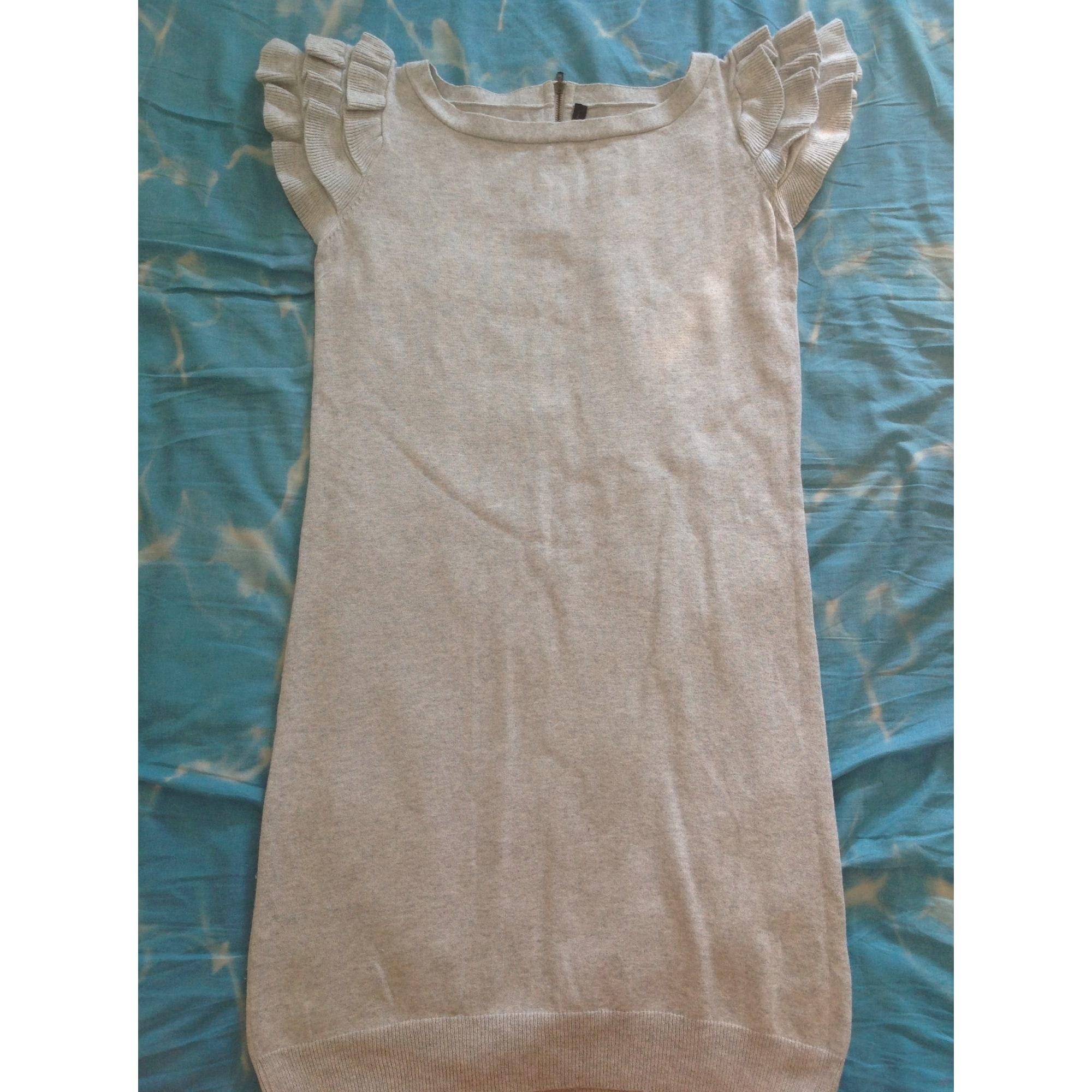 Robe mi-longue NAF NAF Gris, anthracite