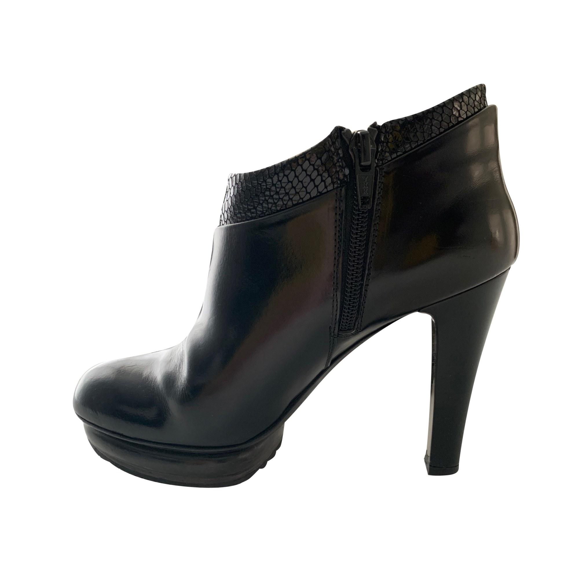Bottines & low boots à talons HOGAN Noir
